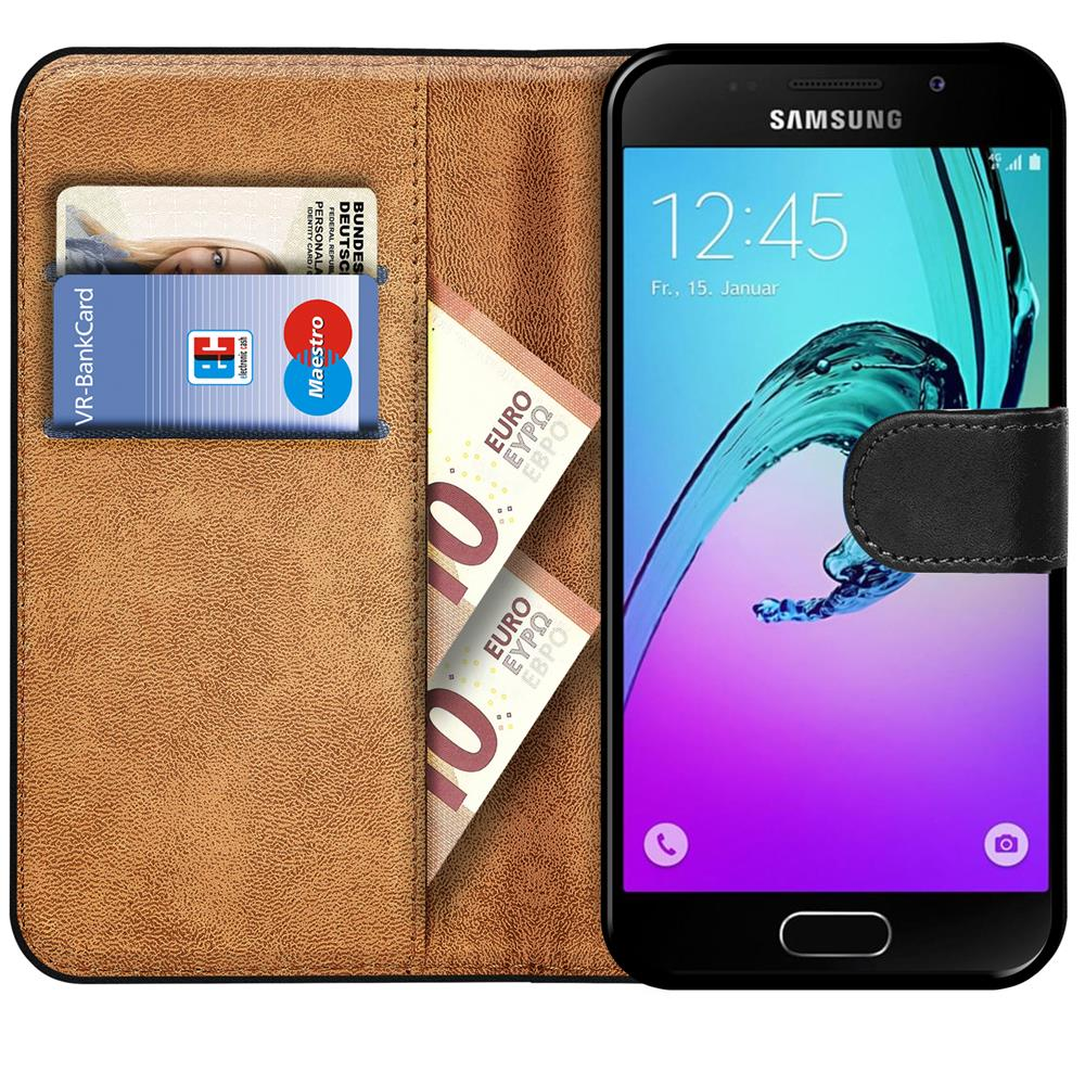 book flip for samsung galaxy a5 2016 mobile phone case wallet cover protection ebay. Black Bedroom Furniture Sets. Home Design Ideas