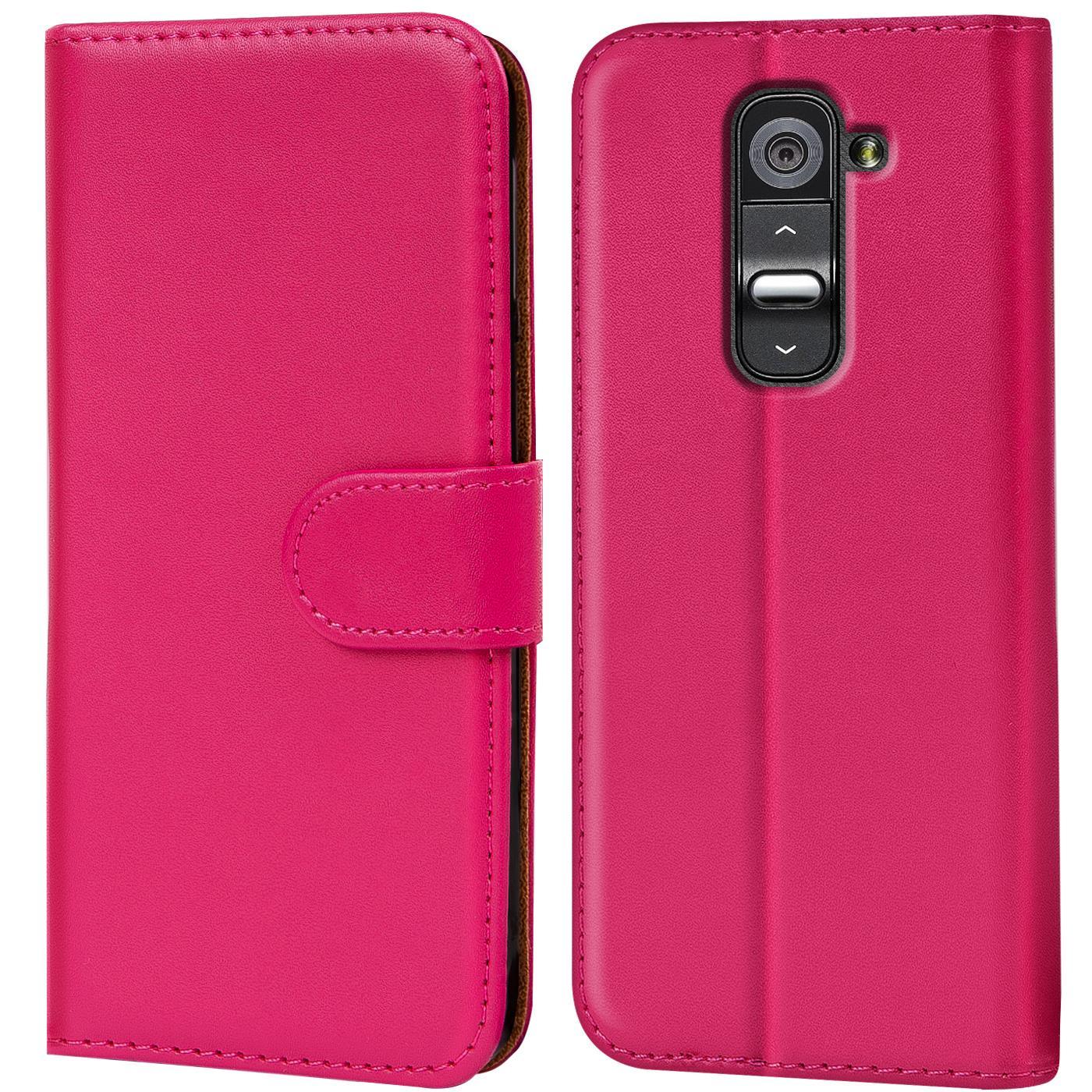 Handyhülle für LG Hülle Flip Case Cover Handy Schutz Book Tasche Schutzhülle