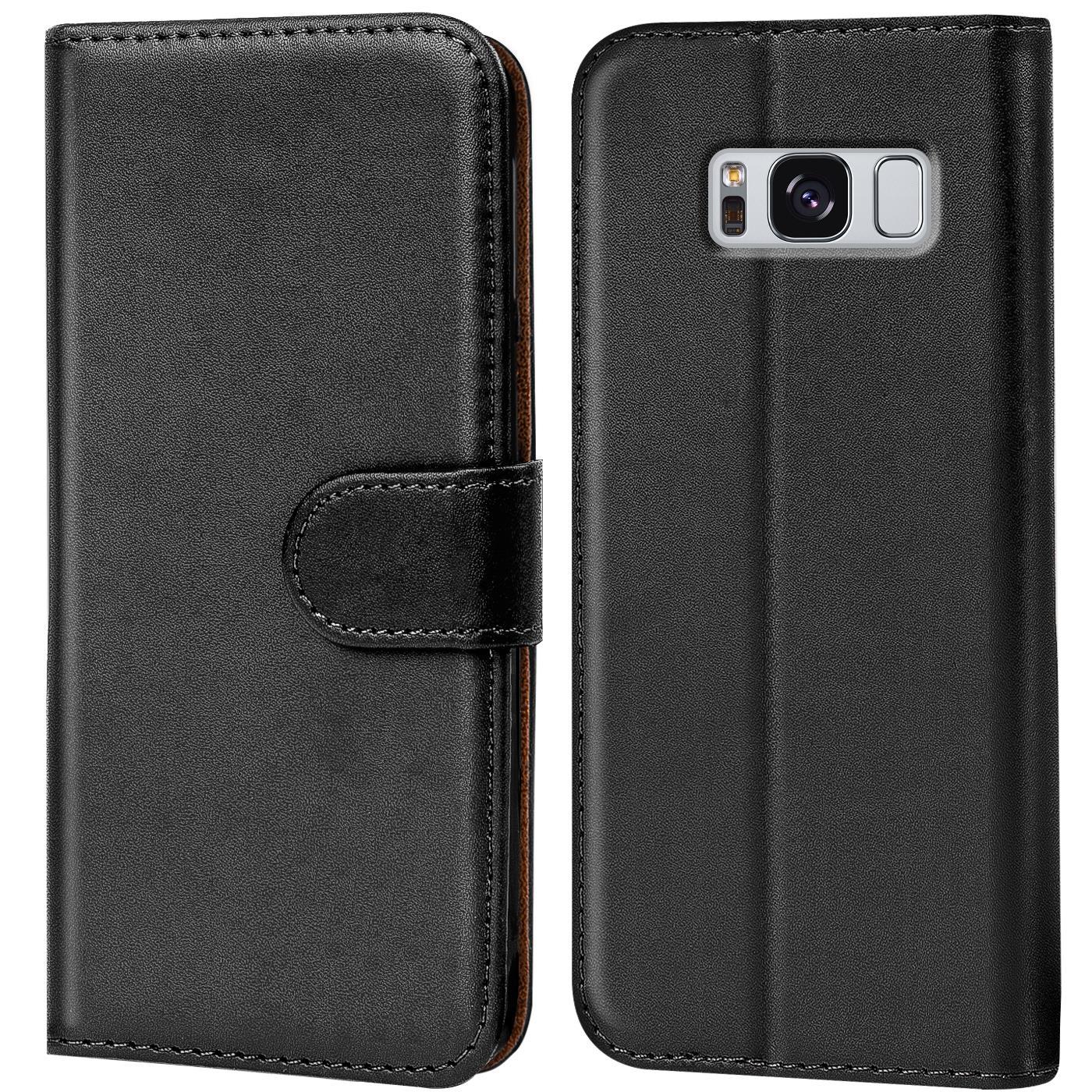 Book Case für Samsung Galaxy Schutzhülle Klapphülle Hülle Wallet Cover Tasche