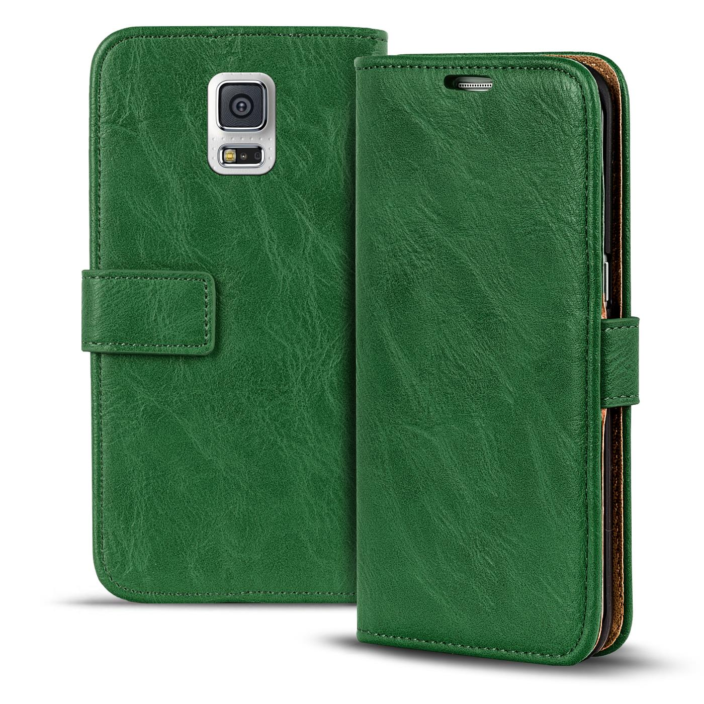 new product 5a658 cc20e Details about Phone Case Samsung Galaxy S5 Neo Flip Cover Case Wallet Case