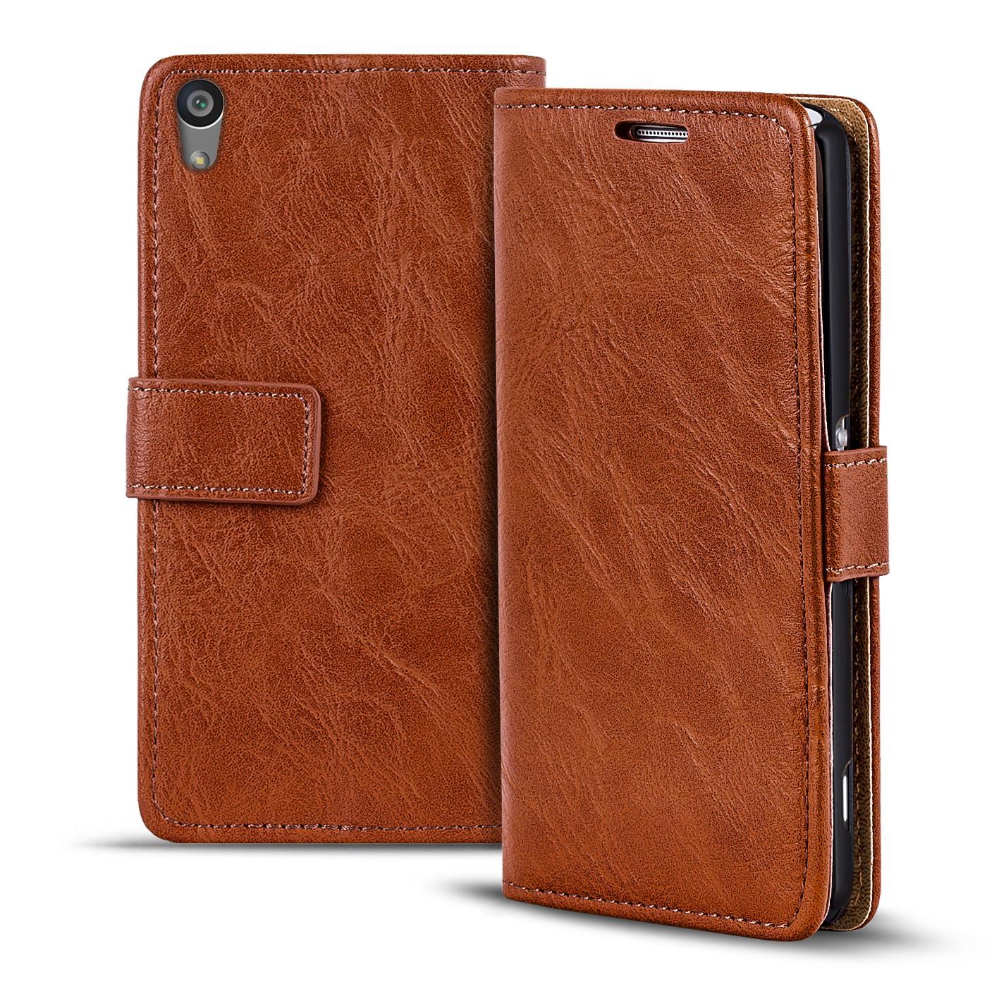 premium selection 2d1f6 9b253 Details about Pouch Sony Xperia Z2 Flip Cover Case Case Wallet