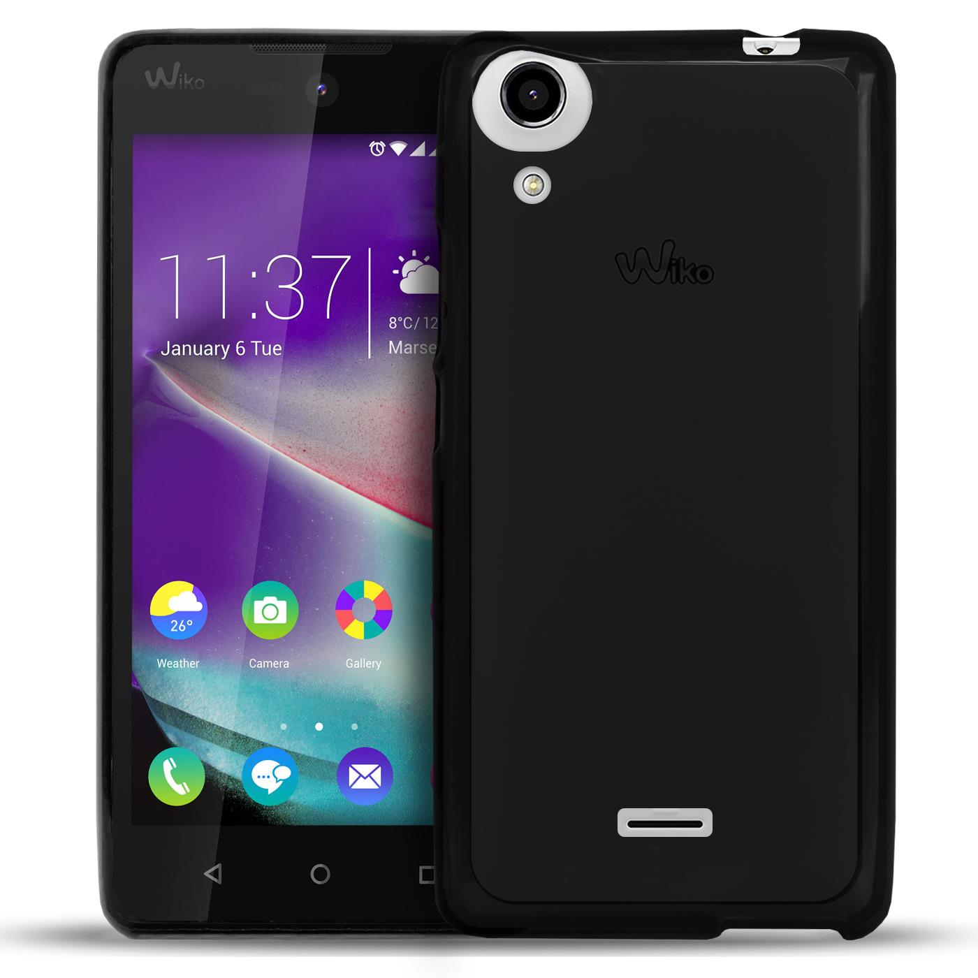 hot sale online f46a3 5503d Details about Case Wiko Rainbow Lite Case Silicone Bag Protective
