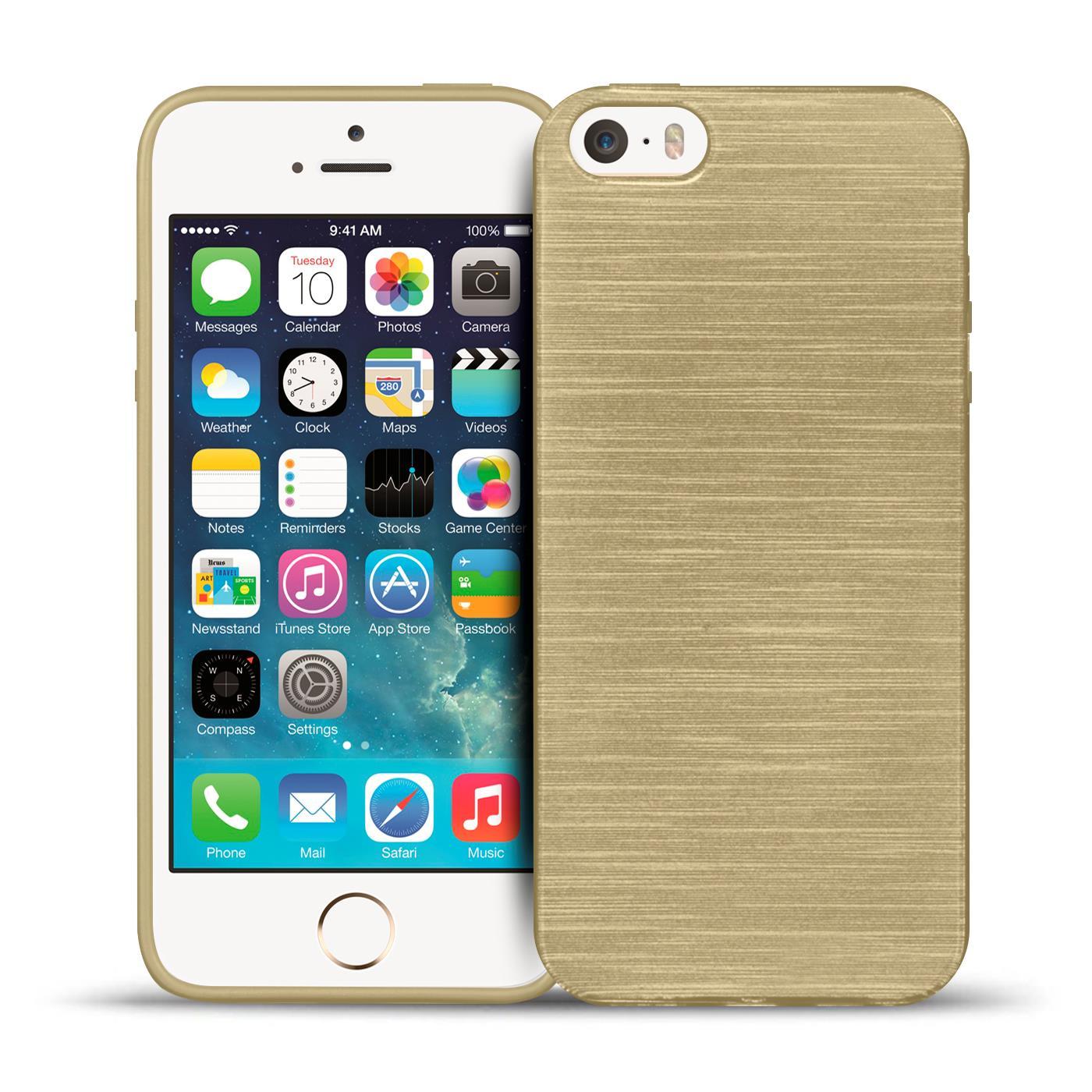31962b1d230 Schutz Hülle für Apple iPhone 5 5S SE Silikon Case Handy Tasche ...