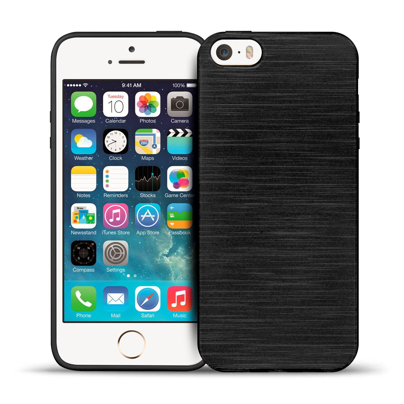 schutz h lle f r apple iphone 5 5s se silikon case handy. Black Bedroom Furniture Sets. Home Design Ideas