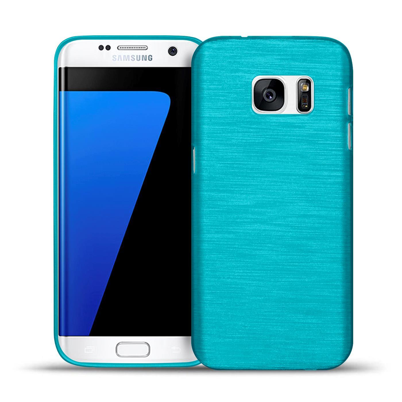 Handy Hülle für Samsung Galaxy Case Brushed Tasche Cover Schutzhülle Etui Bumper