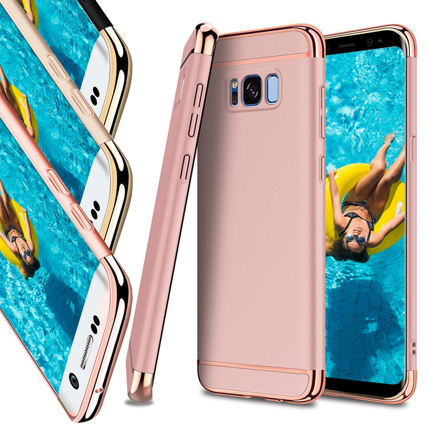 Samsung-Galaxy-S8-Hard-Back-Case-Cover-Thin-Bumper-Slim-Shockproof-Rugged-Thin