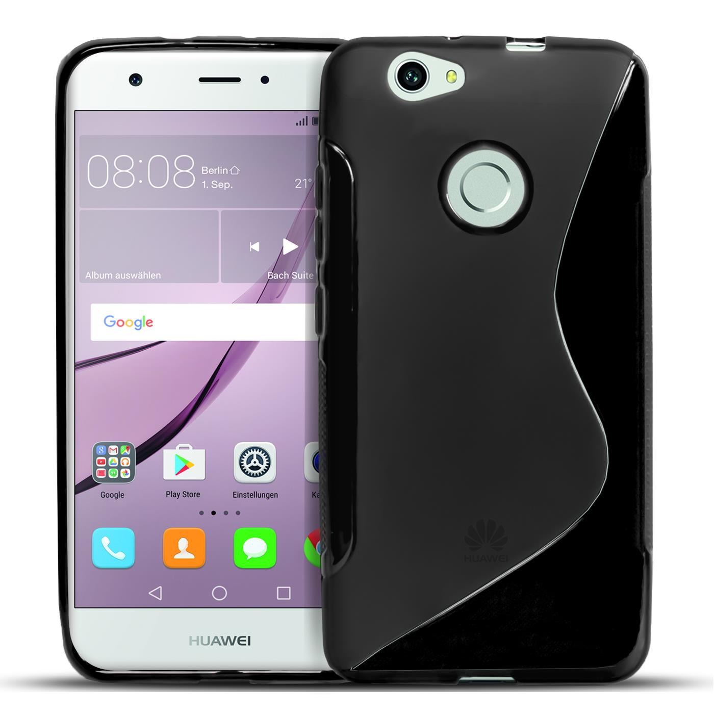 Huawei Hülle Silikon Schutzhülle Backcover Crystal Clear Case Tasche TPU Cover