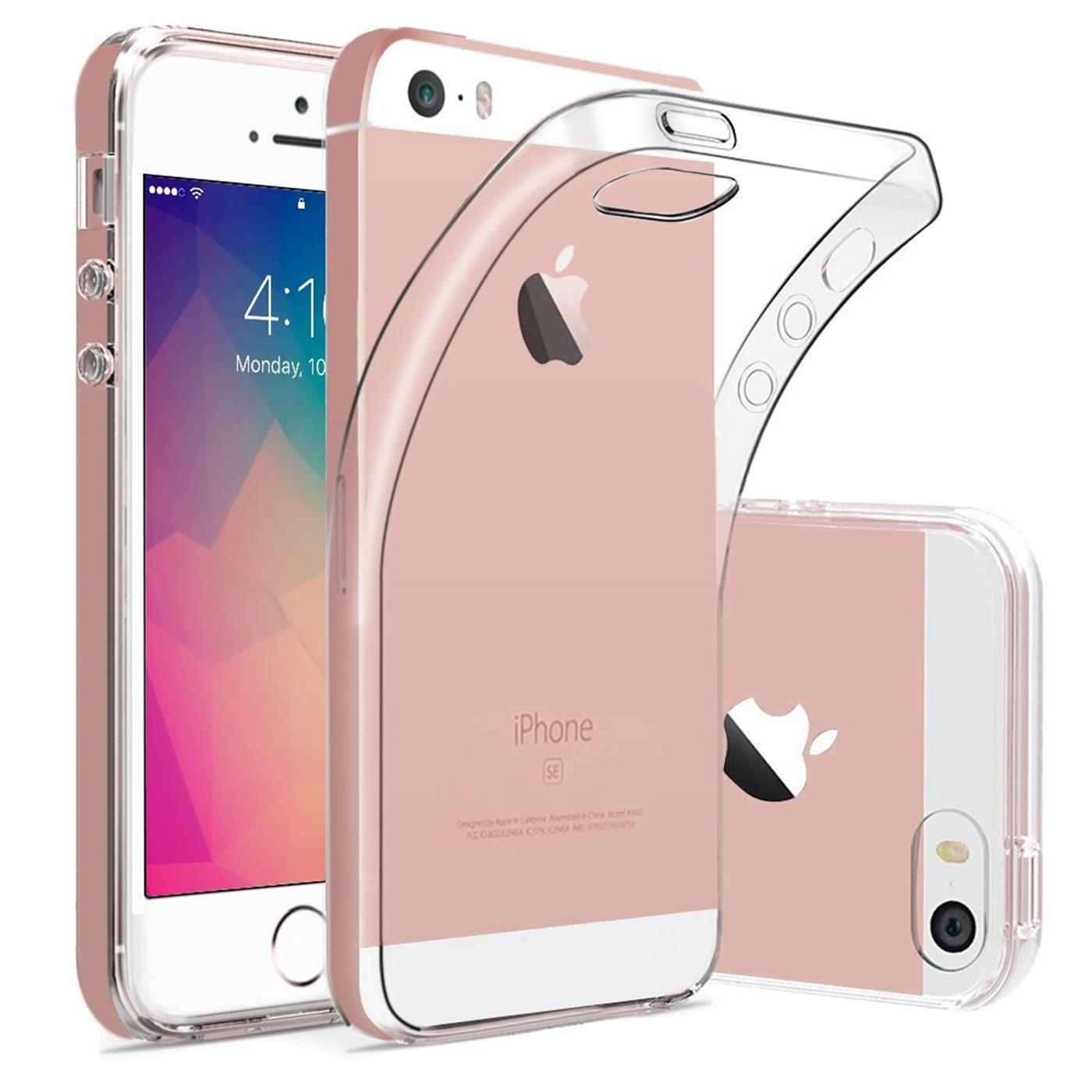 handy h lle apple iphone 5 5s se case schutz cover silikon ultraslim tasche ebay