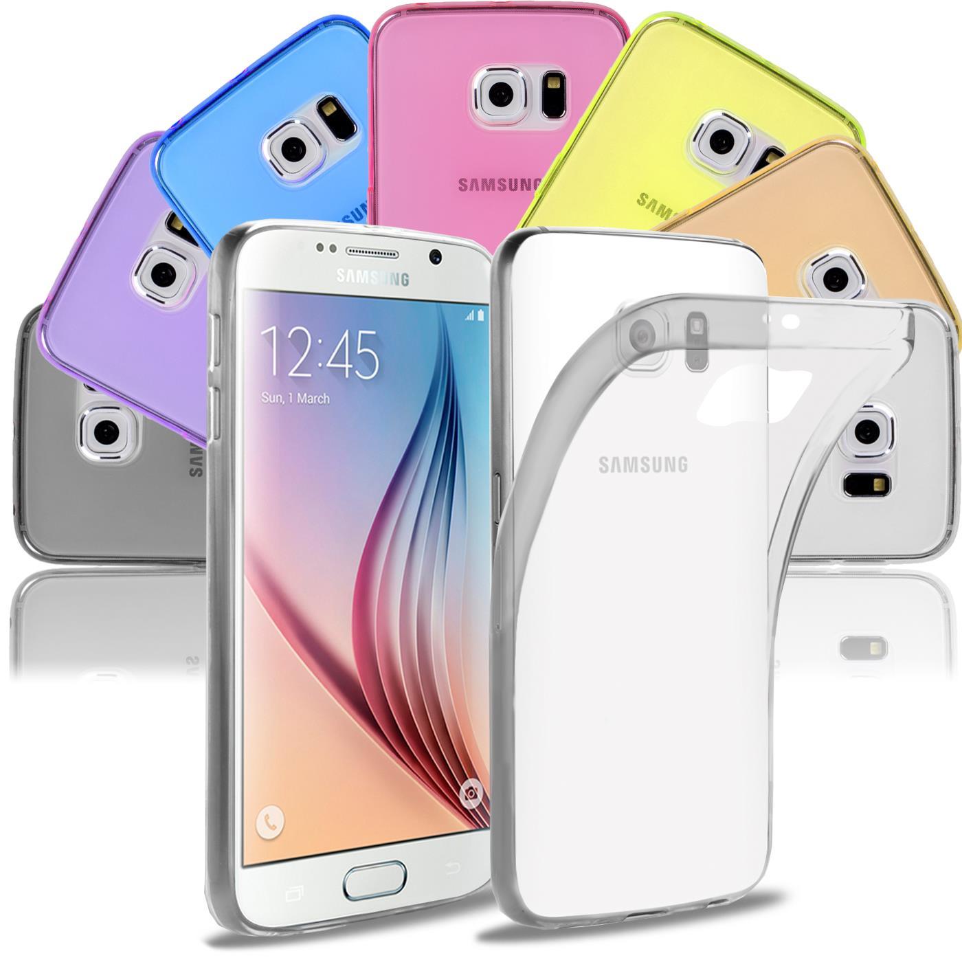 Samsung-Galaxy-s6-Edge-Plus-Thin-Silikon-Klar-Case-Cover-Ultra-Slim-Stossfeste