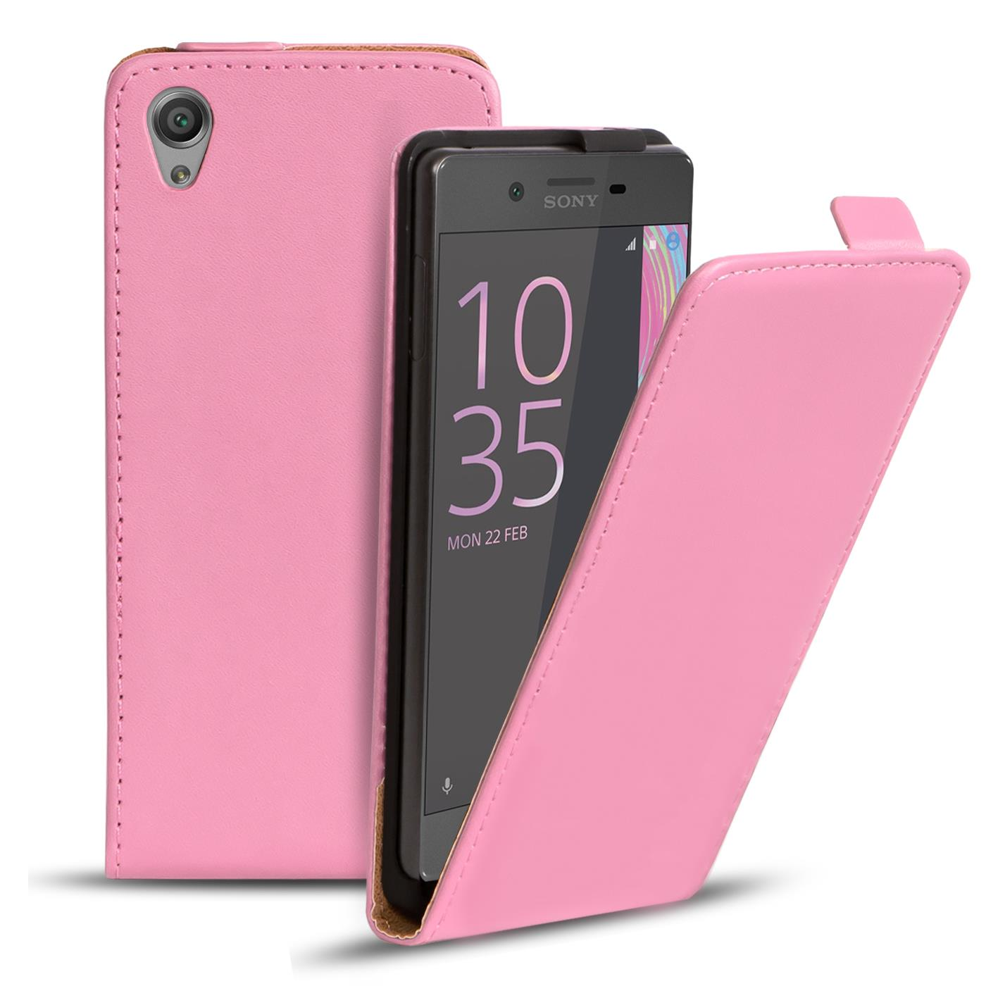 best authentic 012f8 dbb30 Details about Slim Flip Cover Case Sony Xperia Z2 Protective Case Mobile  Phone