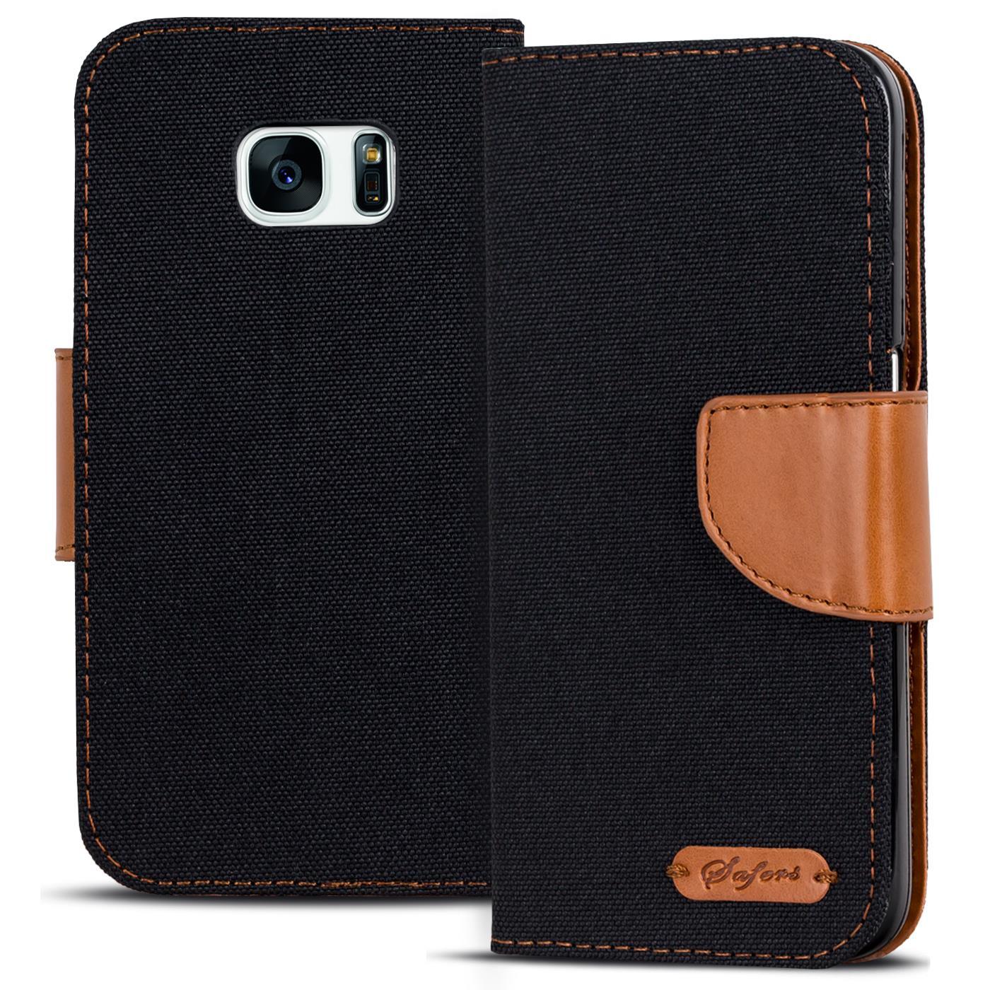 Schutzhülle Samsung Galaxy Hülle Flip Case Handy Tasche Klapphülle Book Cover