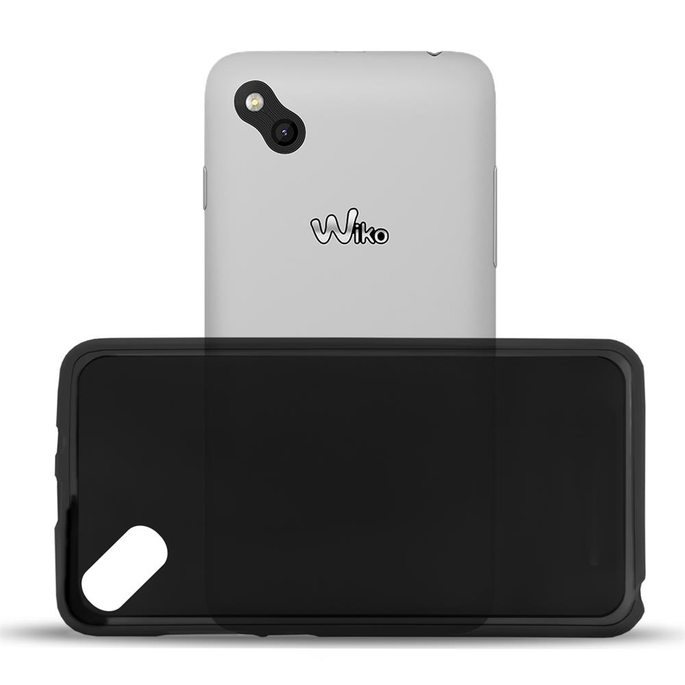Silikonhlle Tpu Fr Wiko Sunset 2 Schutzhlle Backcover In Schwarz