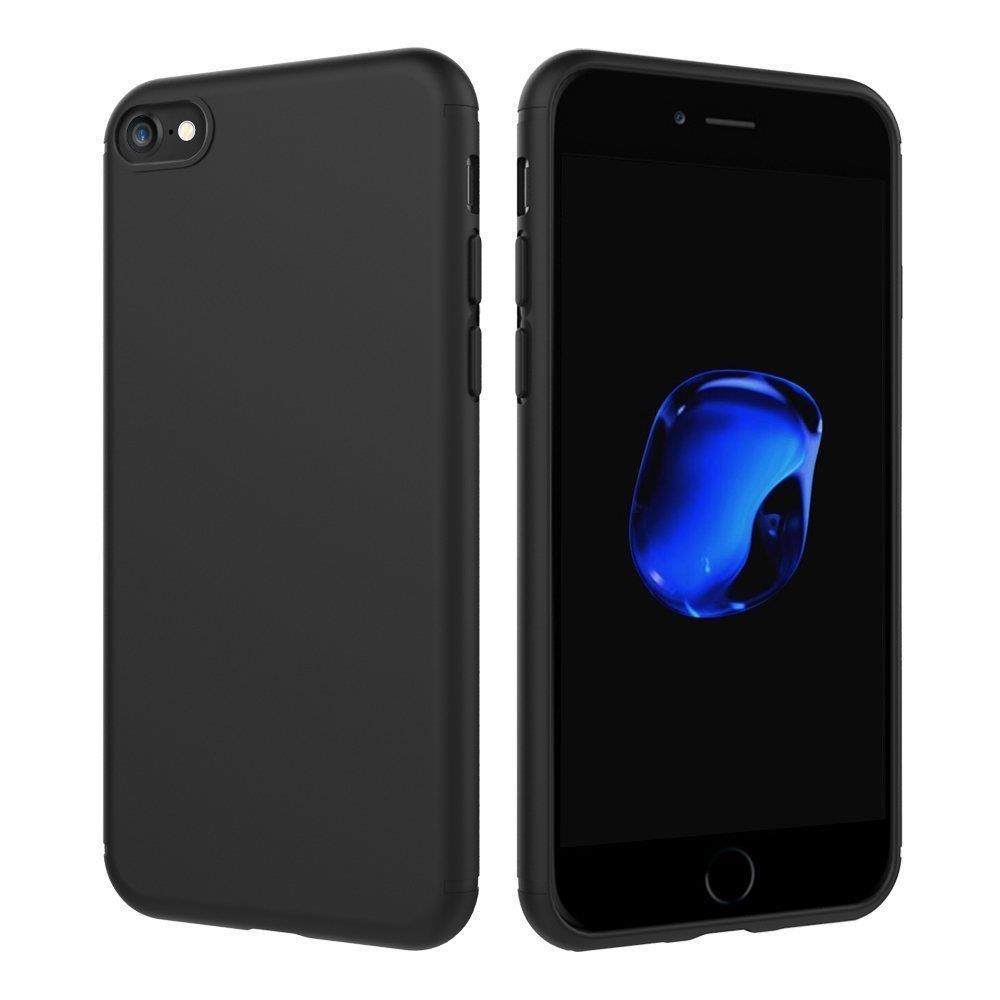 Iphone  Plus Silikon Case Schwarz