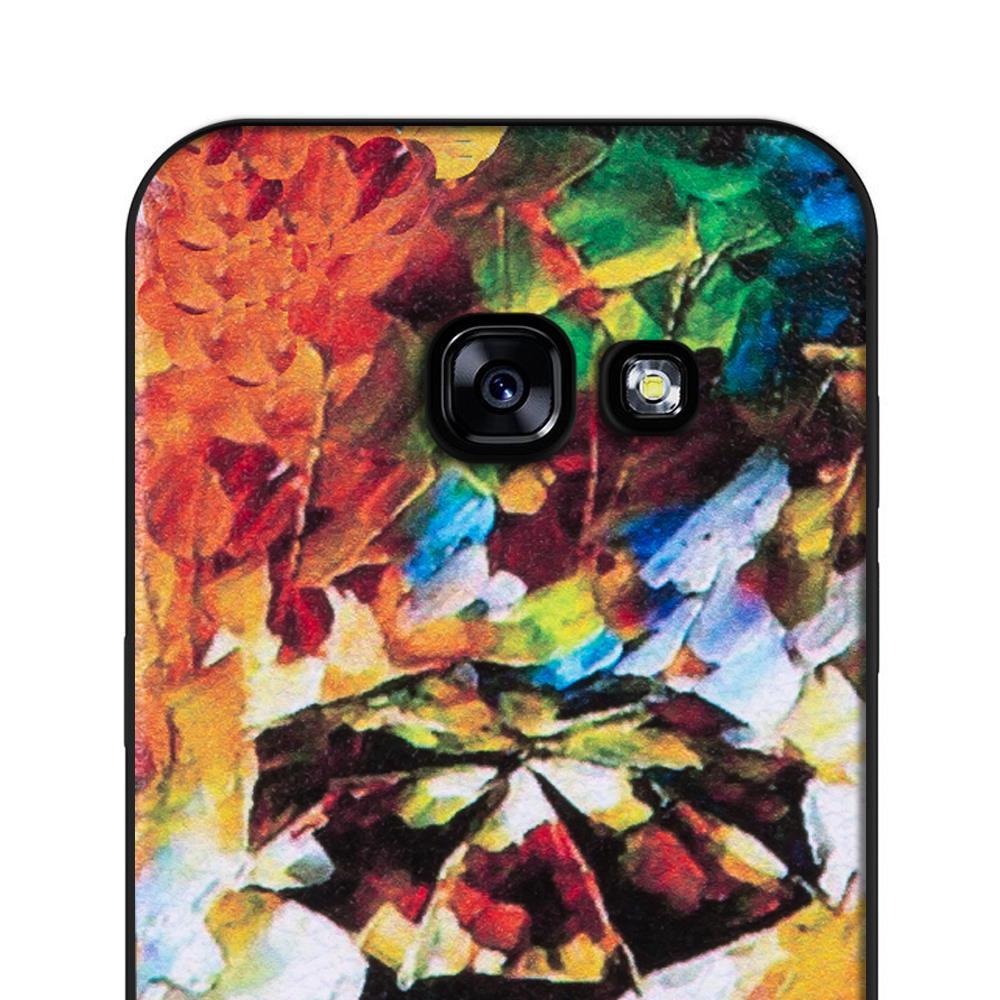 hoco colored case f r samsung galaxy a3 2017 handy h lle mit stylischem motiv schutz cover. Black Bedroom Furniture Sets. Home Design Ideas