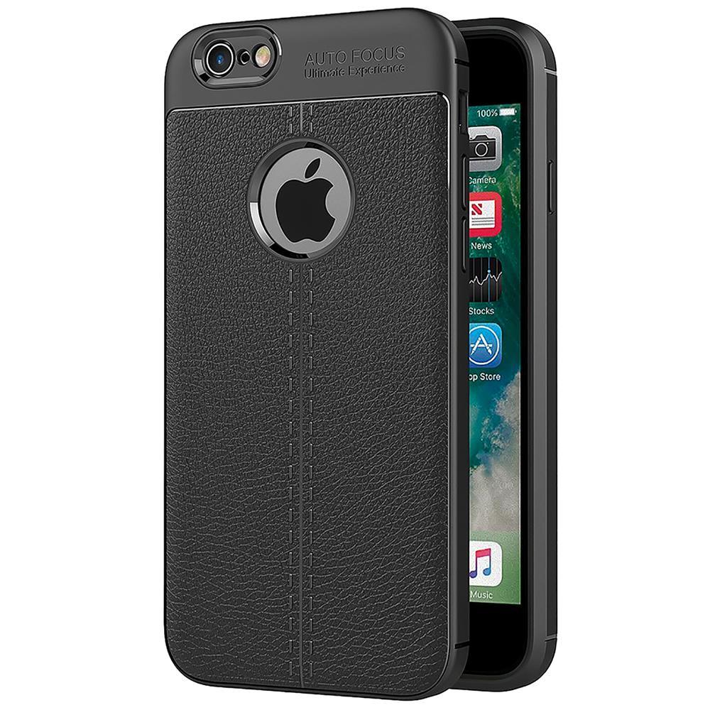 handy case f r apple iphone 6 6s h lle in einer leder optik struktur tasche. Black Bedroom Furniture Sets. Home Design Ideas