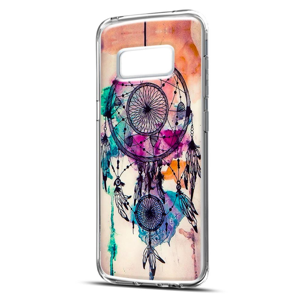 samsung galaxy s8 plus handy h lle transparent cover mit. Black Bedroom Furniture Sets. Home Design Ideas