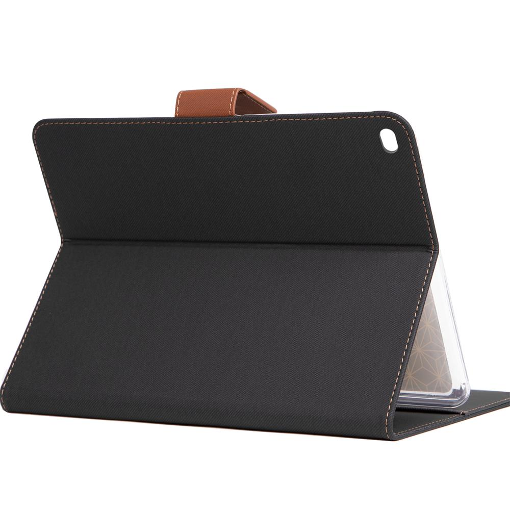 klapph lle f r apple ipad air 2 h lle tasche textil case. Black Bedroom Furniture Sets. Home Design Ideas