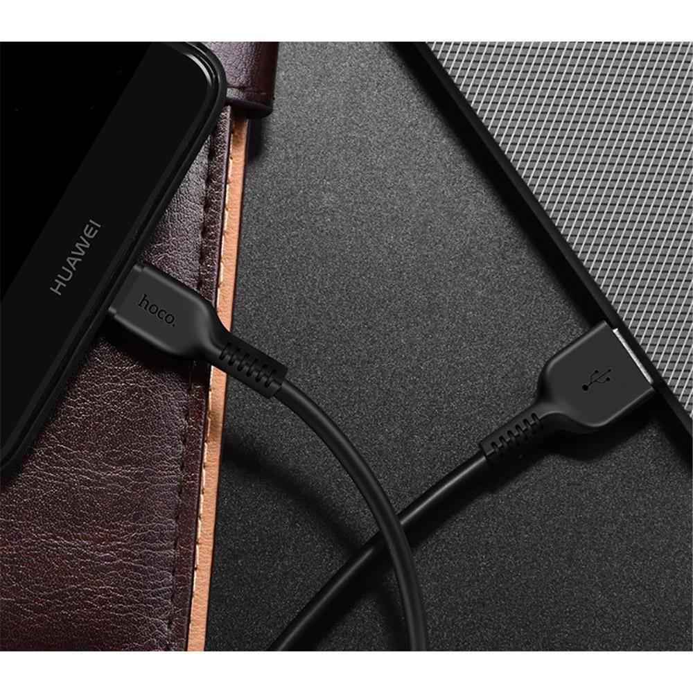 Hoco USB Kabel Flash X20 - 1m Typ C Ladekabel verstärkte ...