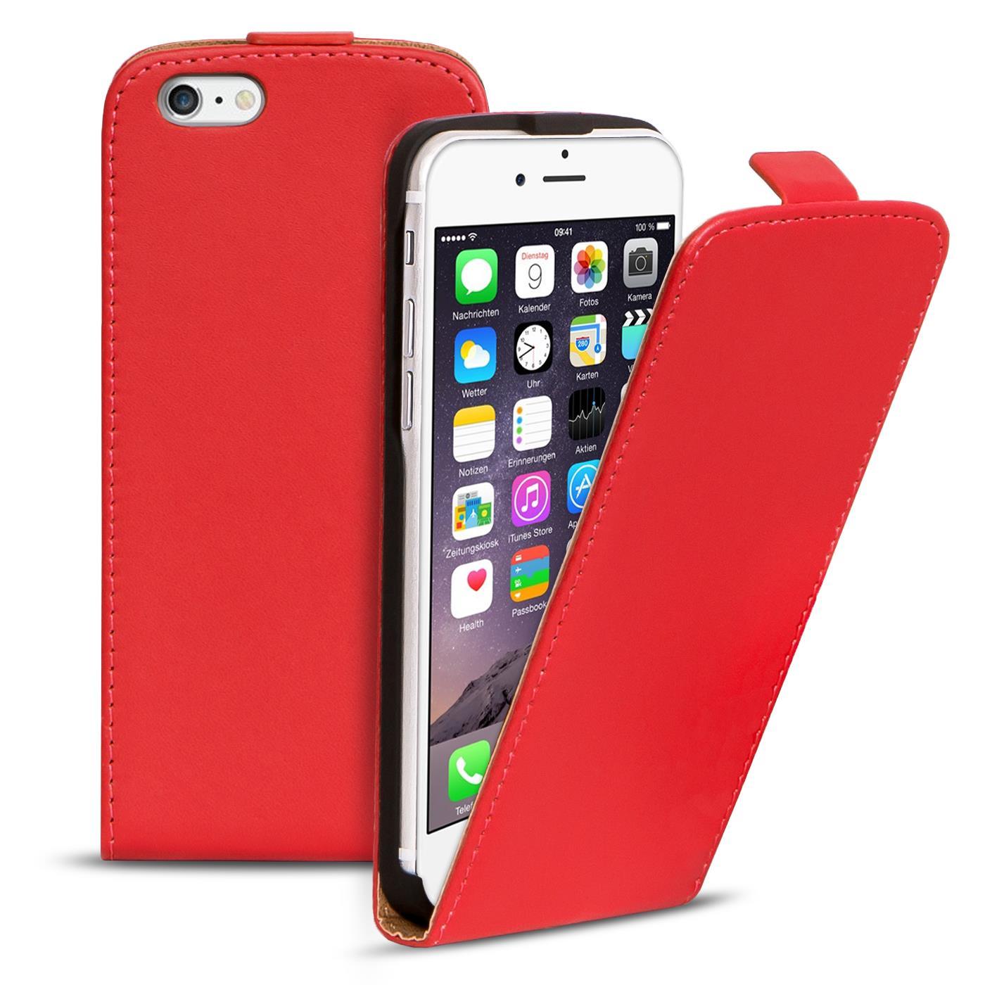 flip case apple iphone 6 6s plus h lle pu leder klapph lle. Black Bedroom Furniture Sets. Home Design Ideas