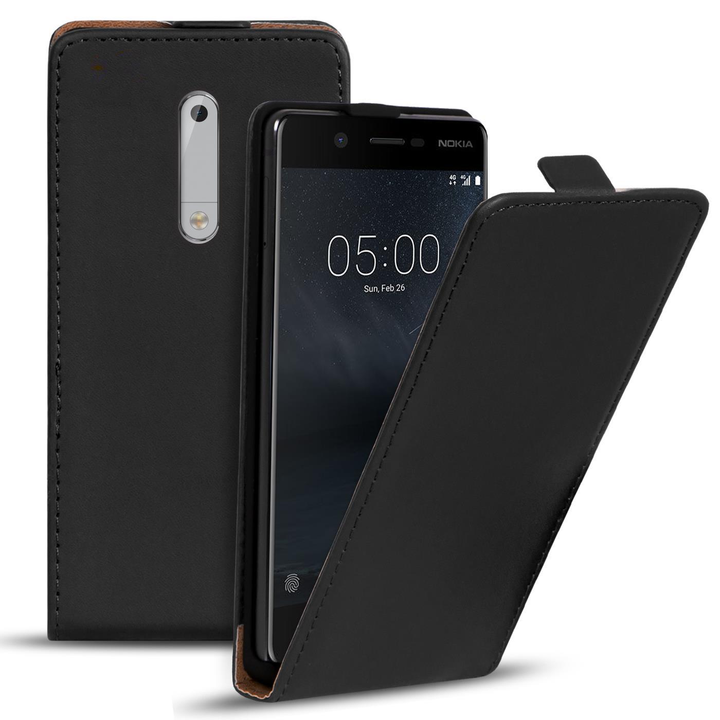 Schutzhülle für Nokia Handy Tasche Schutz Hülle Slim Flip Klapp Bumper Case Etui