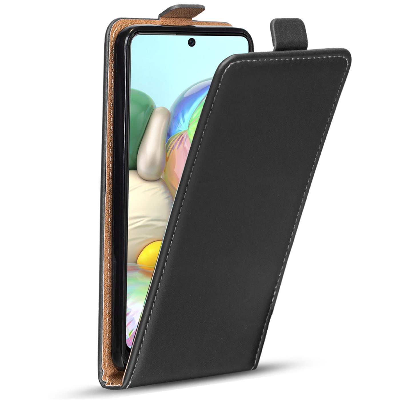 Flip-Cover-fuer-Samsung-Galaxy-A51-Huelle-Klapp-Huelle-Handy-Schutz-Tasche-Case Indexbild 9