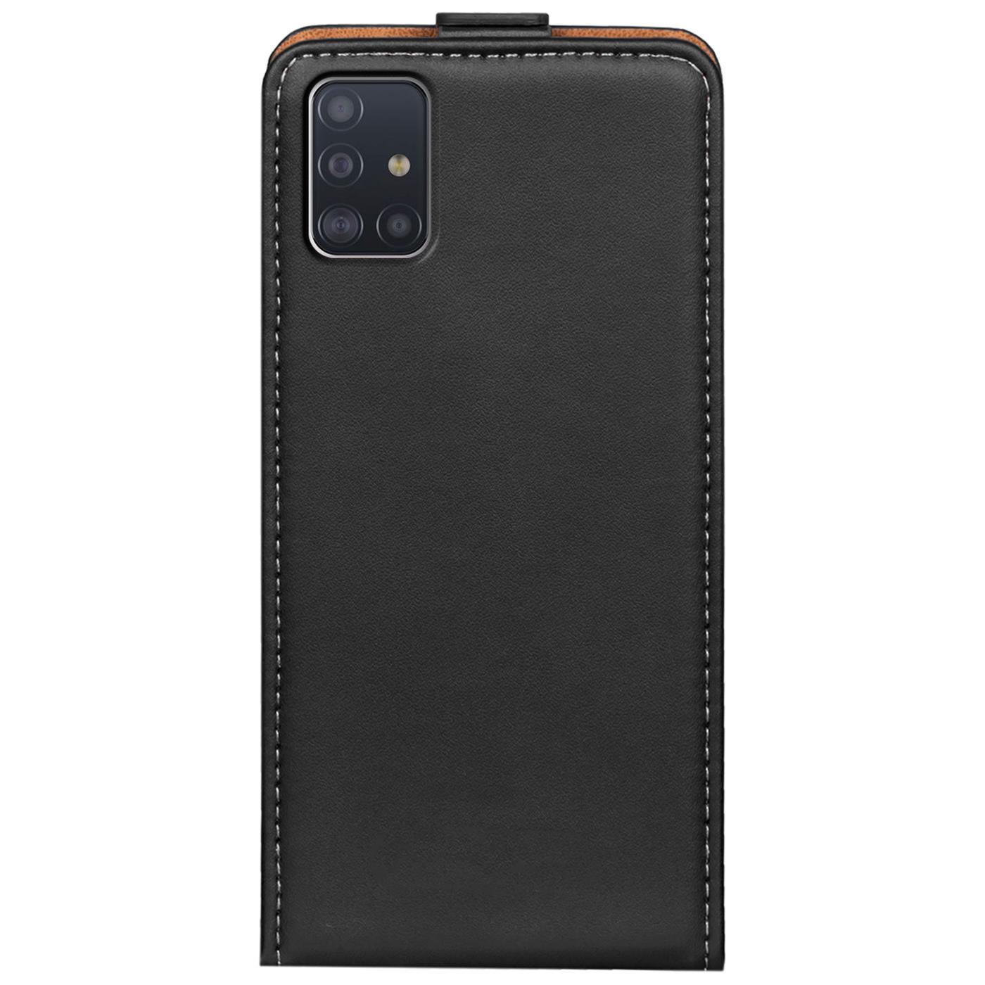 Flip-Cover-fuer-Samsung-Galaxy-A51-Huelle-Klapp-Huelle-Handy-Schutz-Tasche-Case Indexbild 10
