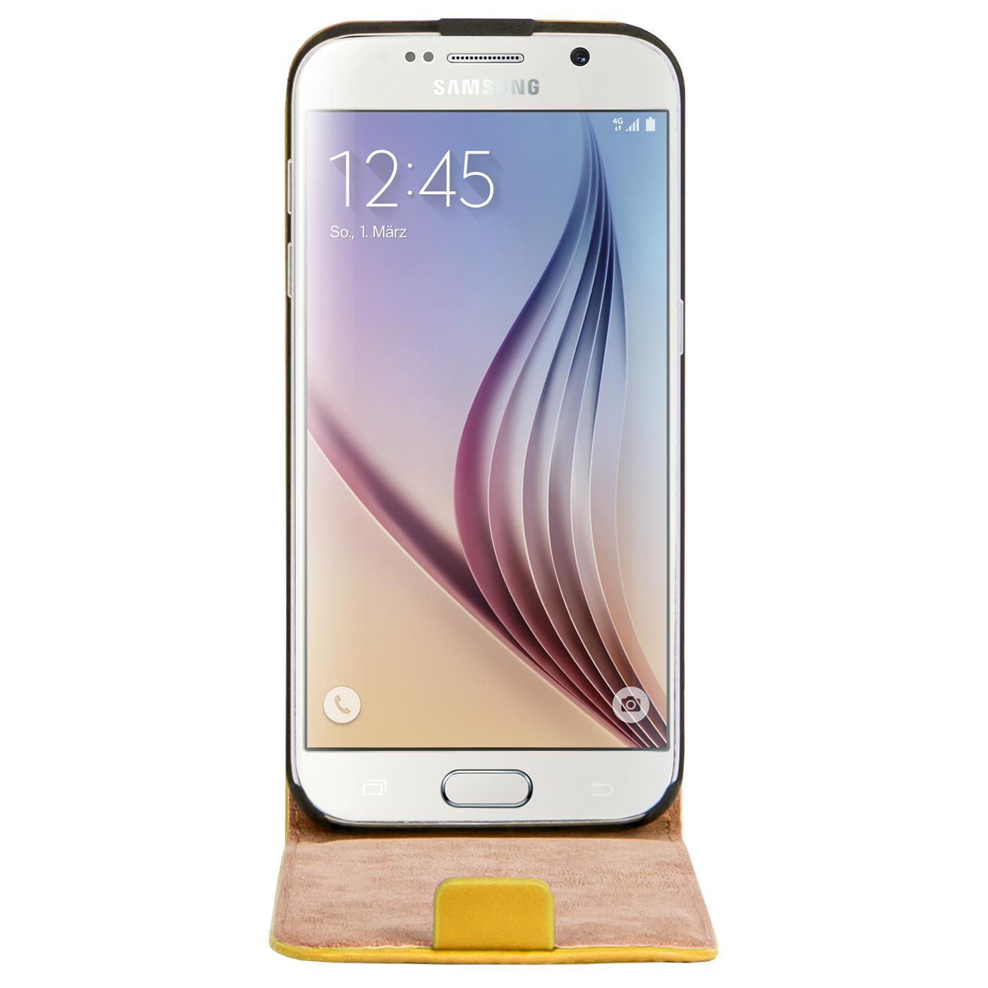 Klapphuelle-Samsung-Galaxy-Flip-Case-Tasche-Schutzhuelle-Cover-Schutz-Handy-Huelle Indexbild 46