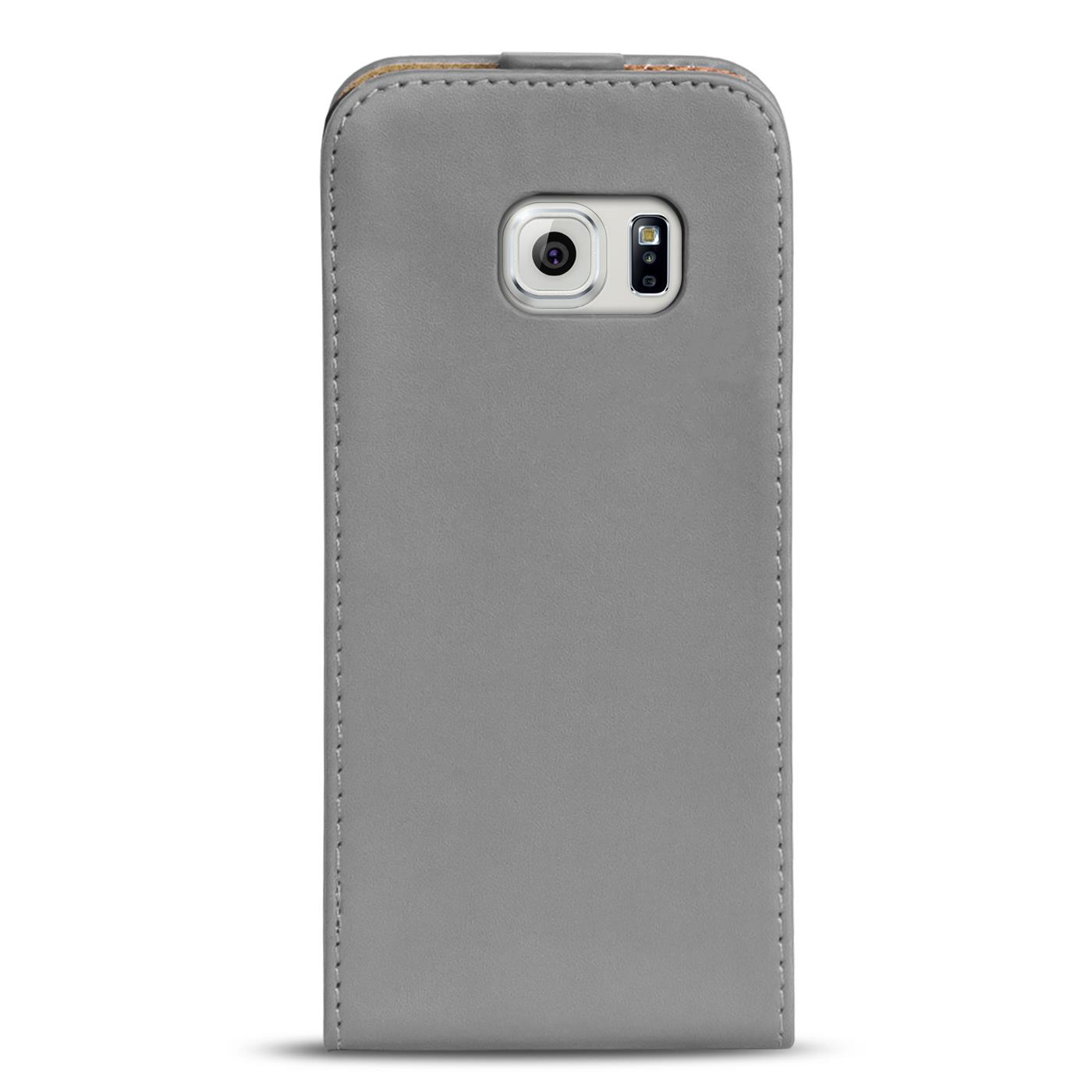 Klapphuelle-Samsung-Galaxy-Flip-Case-Tasche-Schutzhuelle-Cover-Schutz-Handy-Huelle Indexbild 49