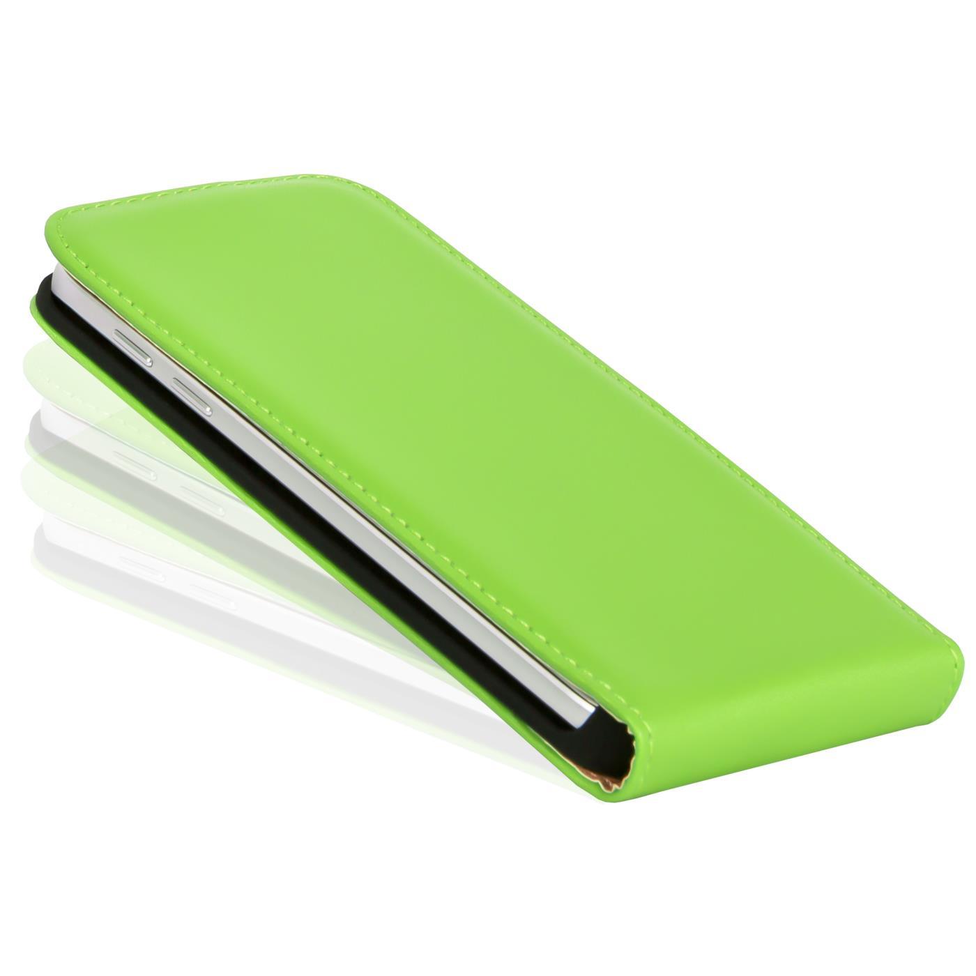 Klapphuelle-Samsung-Galaxy-Flip-Case-Tasche-Schutzhuelle-Cover-Schutz-Handy-Huelle Indexbild 19