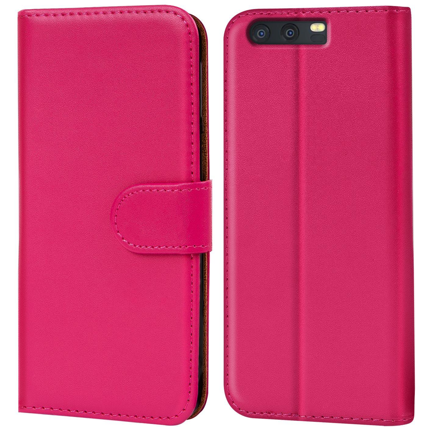 Case Schutz Hülle Etui für Huawei Honor Handy Tasche Full Flip Cover Bumper Book