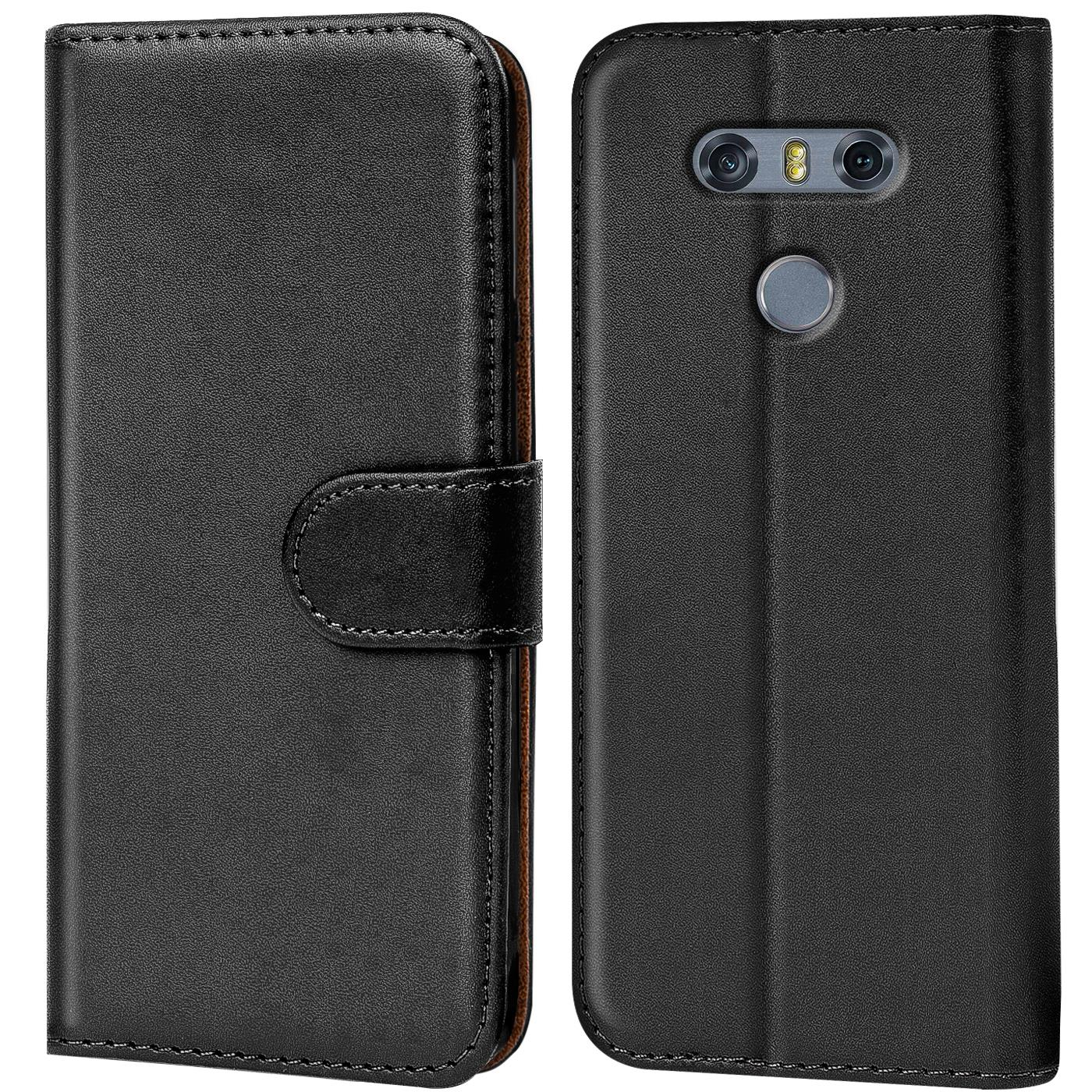 Handy Flip Case für LG Cover Tasche Hülle Schutzhülle Etui Bumper Book Slim
