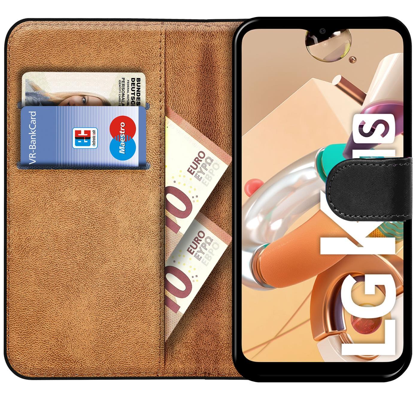 Book-Case-Fuer-LG-K4-20171s-Huelle-Flip-Cover-Handy-Tasche-Schutz-Huelle-Schale Indexbild 9