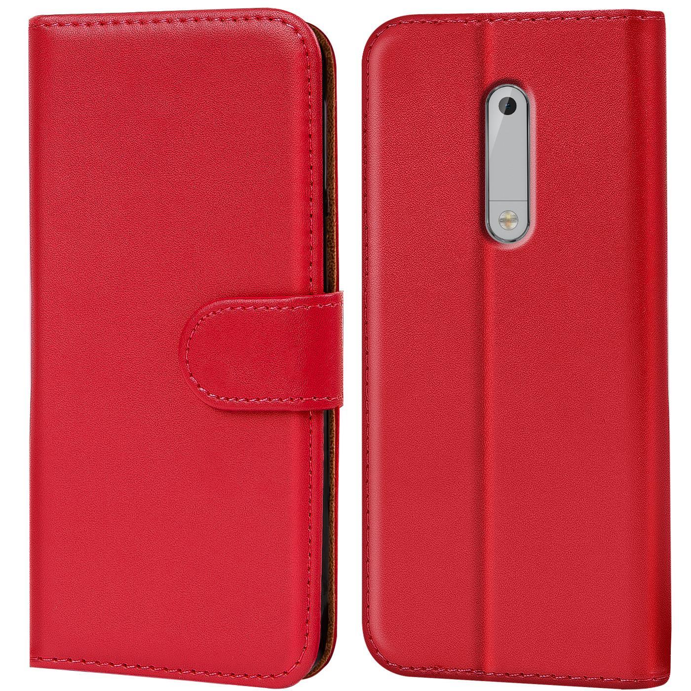 Handy-Tasche-fuer-Nokia-Serie-Huelle-Klapphuelle-Schutz-Huelle-Cover-Etui-Case