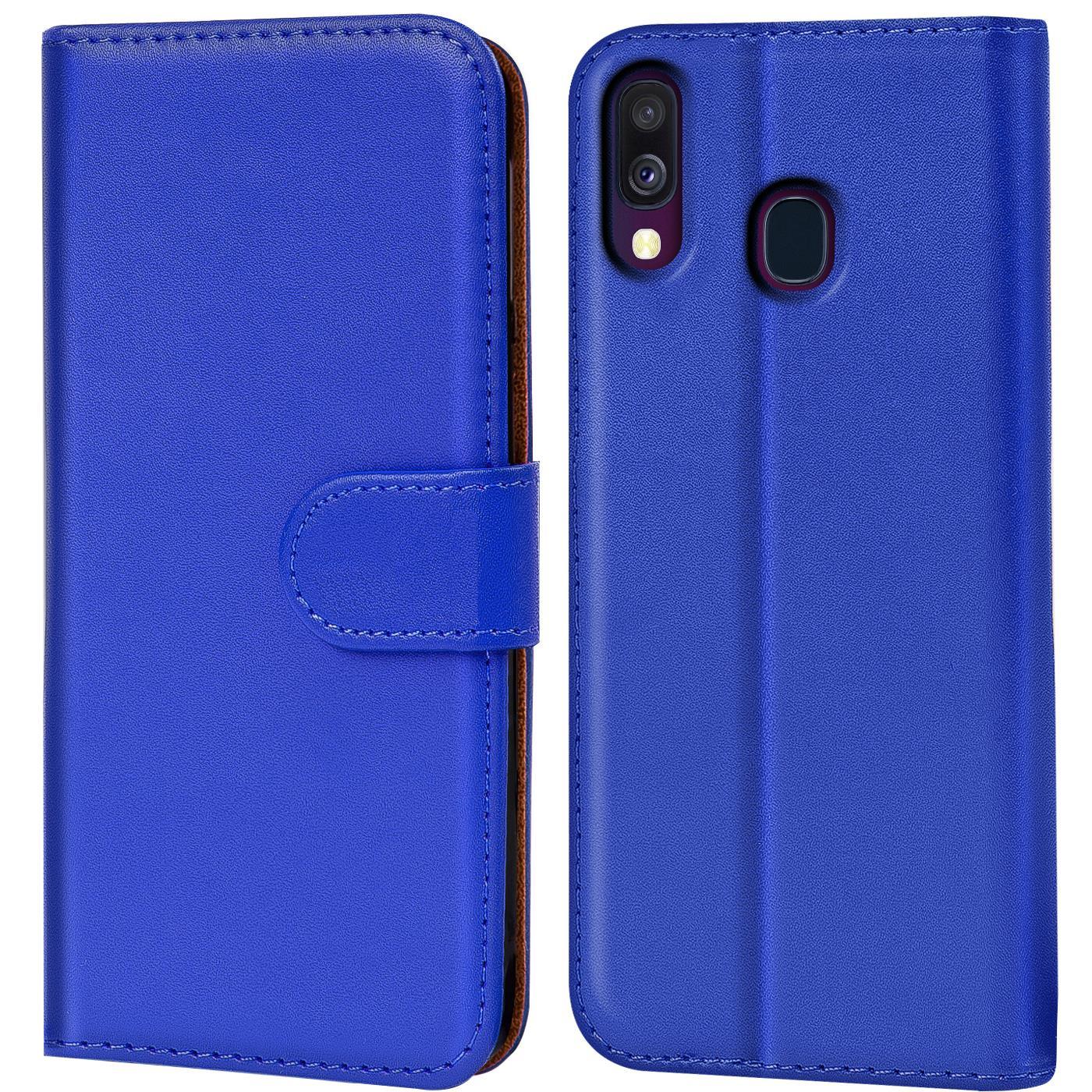 Schutz-Huelle-Samsung-Galaxy-A40-Handy-Klapp-Tasche-Book-Flip-Case-Schutzhuelle Indexbild 8