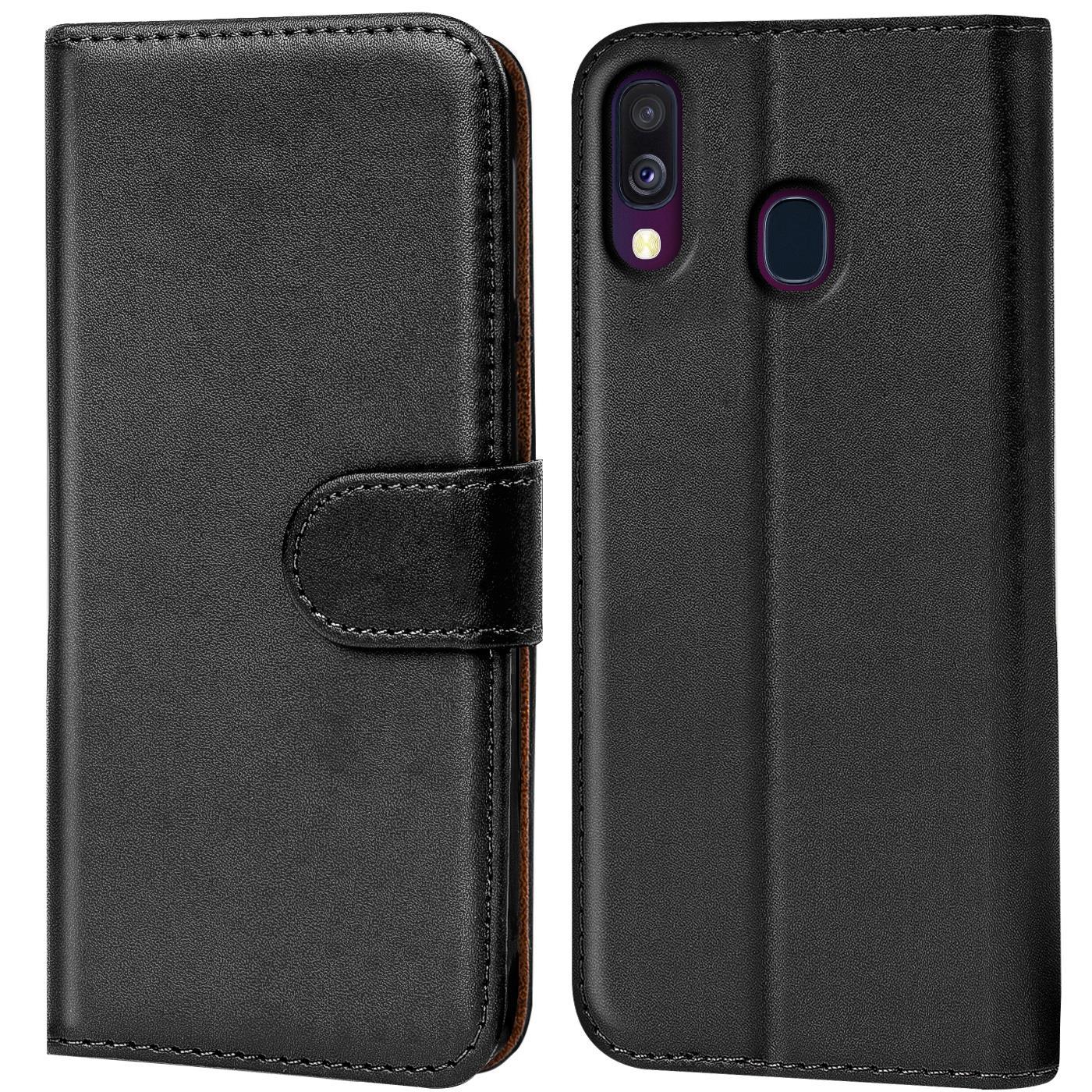 Schutz-Huelle-Samsung-Galaxy-A40-Handy-Klapp-Tasche-Book-Flip-Case-Schutzhuelle Indexbild 20