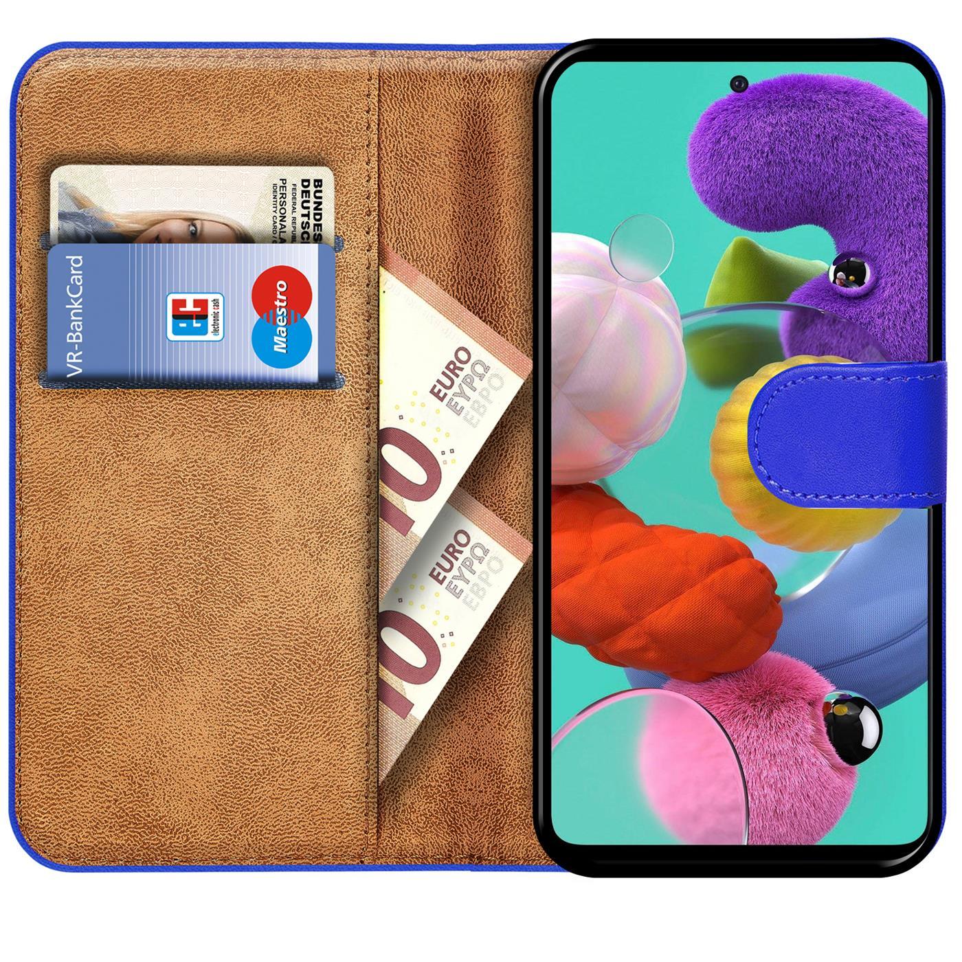 Book-Case-fuer-Samsung-Galaxy-A51-Huelle-Tasche-Flip-Cover-Handy-Schutz-Huelle Indexbild 9