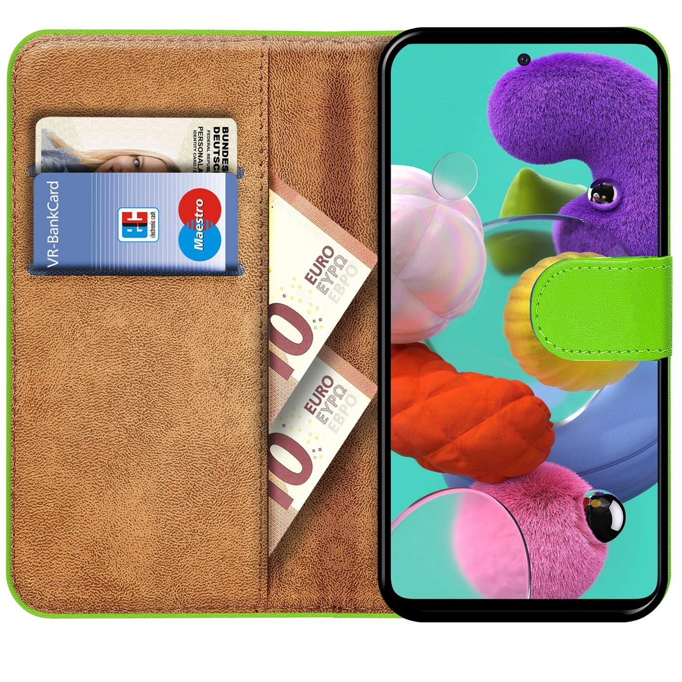 Book-Case-fuer-Samsung-Galaxy-A51-Huelle-Tasche-Flip-Cover-Handy-Schutz-Huelle Indexbild 12