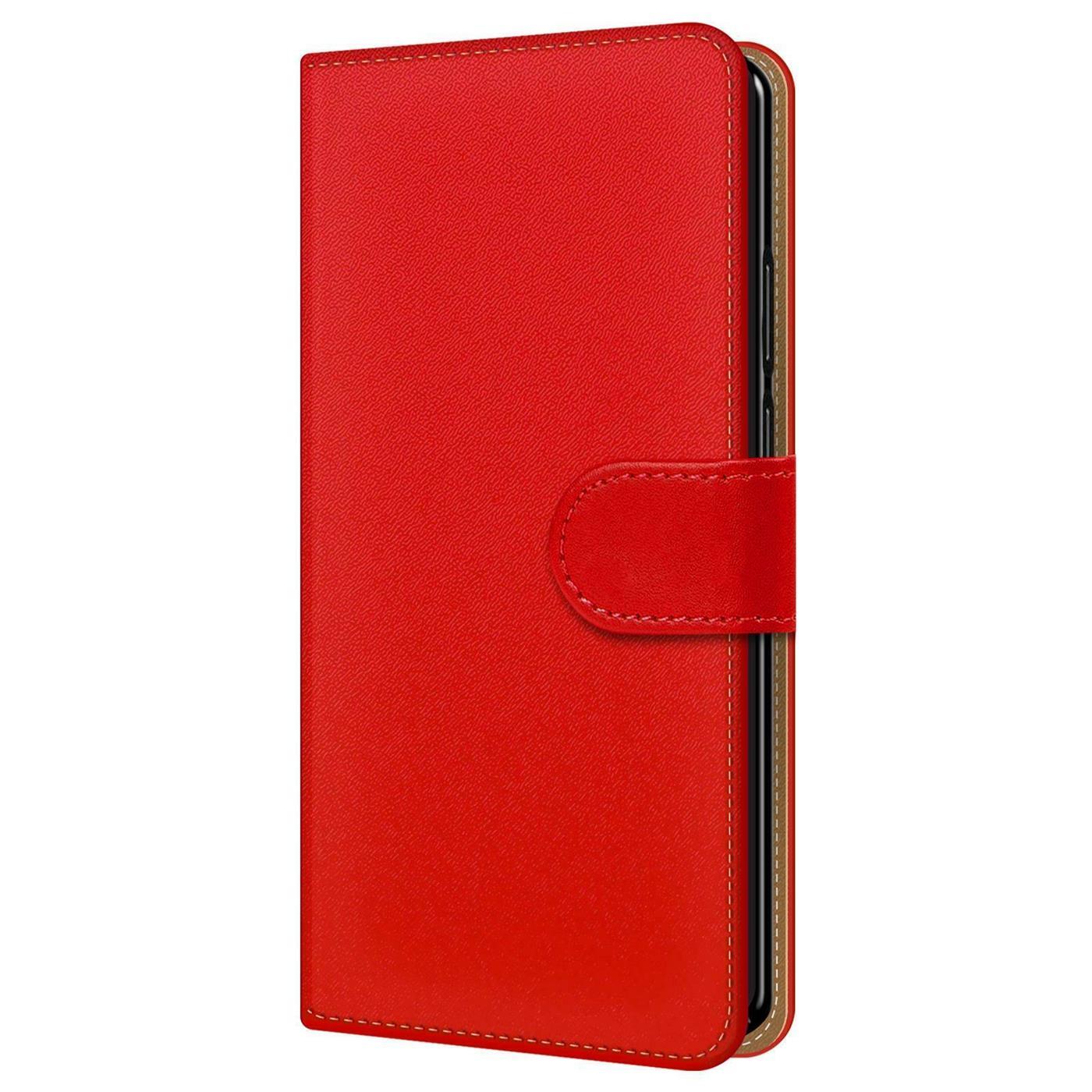 Samsung-Galaxy-J4-Plus-Handy-Klapp-Tasche-Schutz-Huelle-Book-Flip-Cover-Case-Etui Indexbild 23