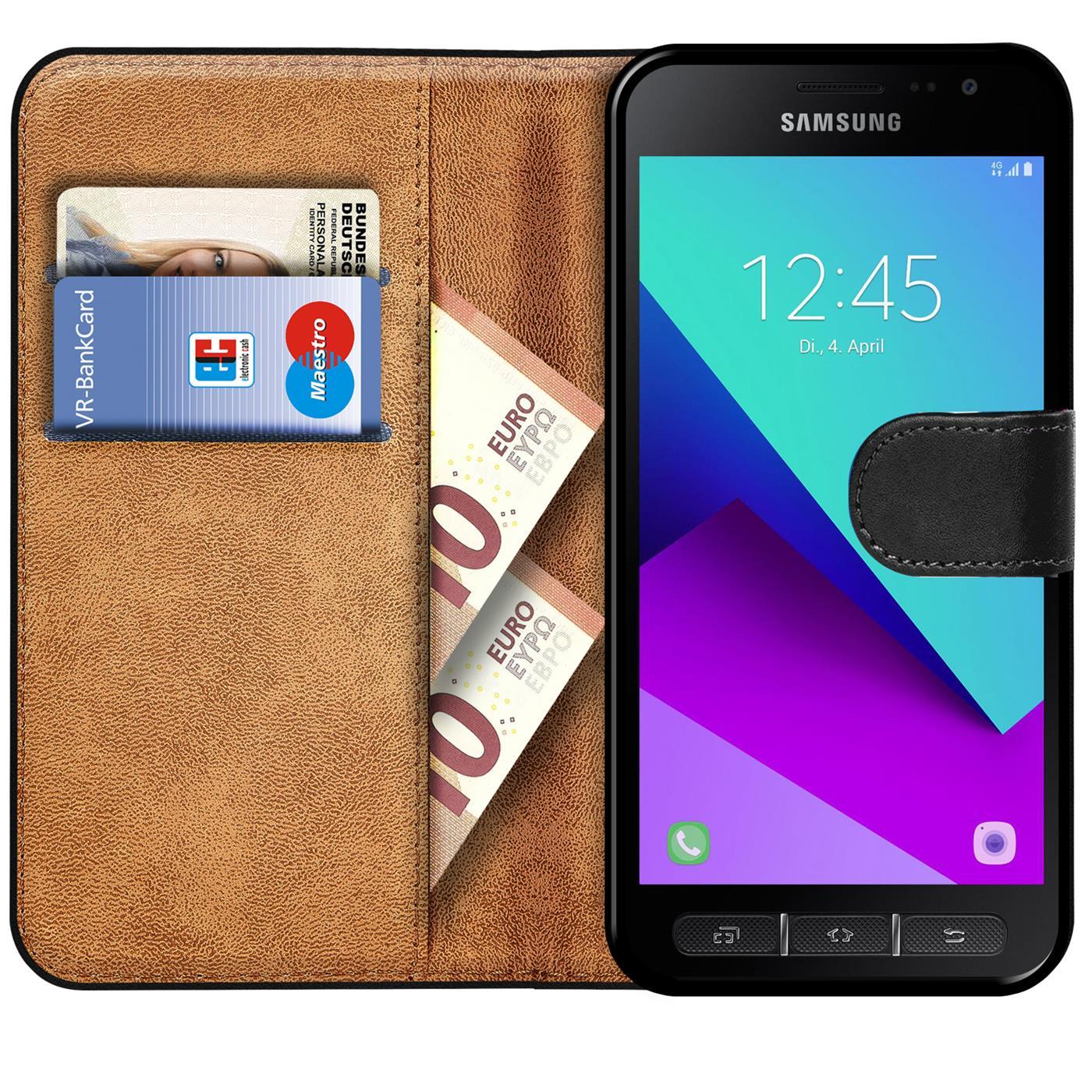 Indexbild 9 - Book Case für Samsung Galaxy XCover 4 4S Hülle Tasche Flip Cover Handy Schutz