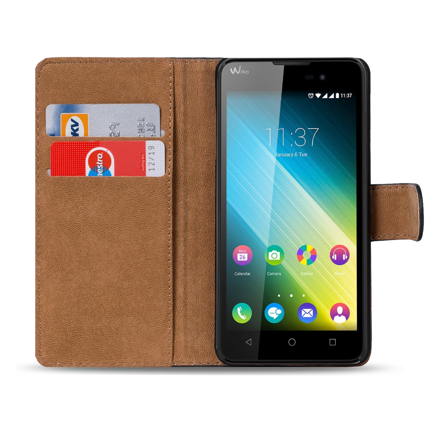 Handy-Klapp-Tasche-Wiko-Lenny-2-Schutz-Huelle-Flip-Slim-Case-Schutzhuelle-Cover