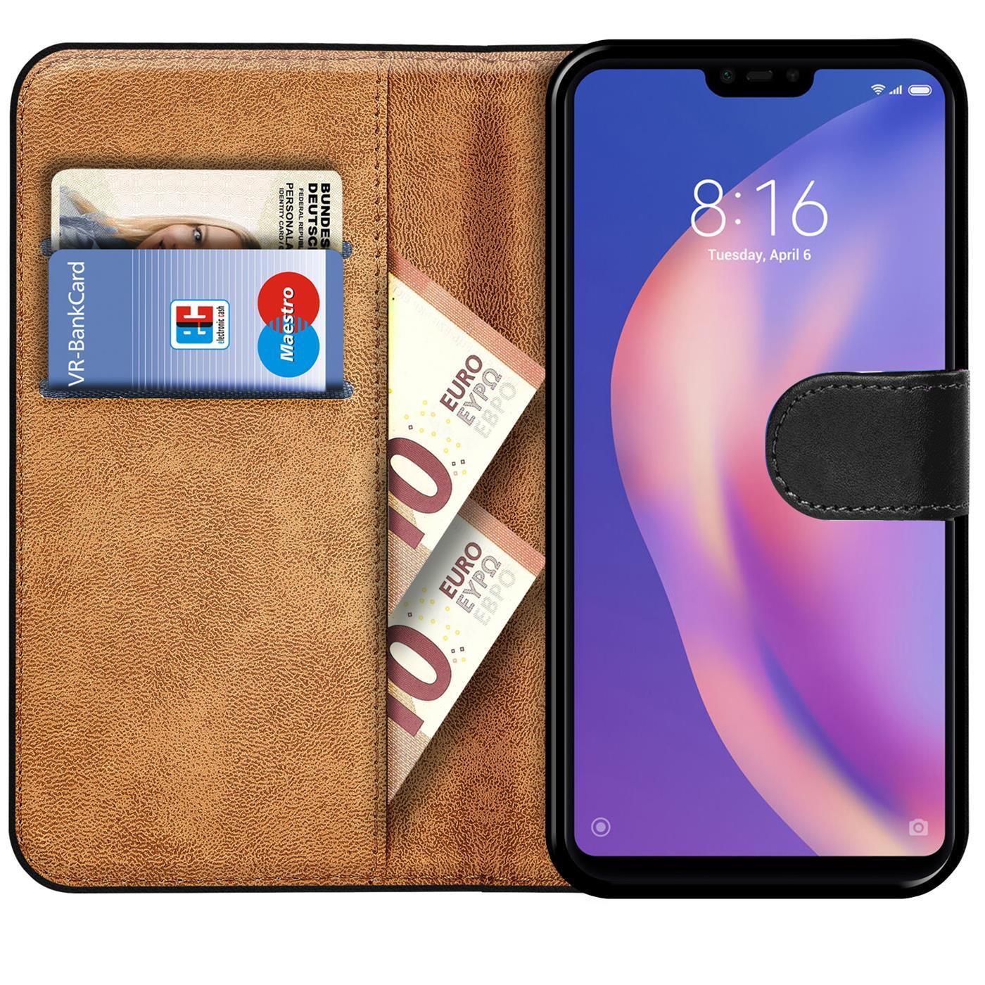 Book-Case-fuer-Xiaomi-Mi-8-Lite-Huelle-Tasche-Flip-Cover-Handy-Schutz-Huelle Indexbild 9