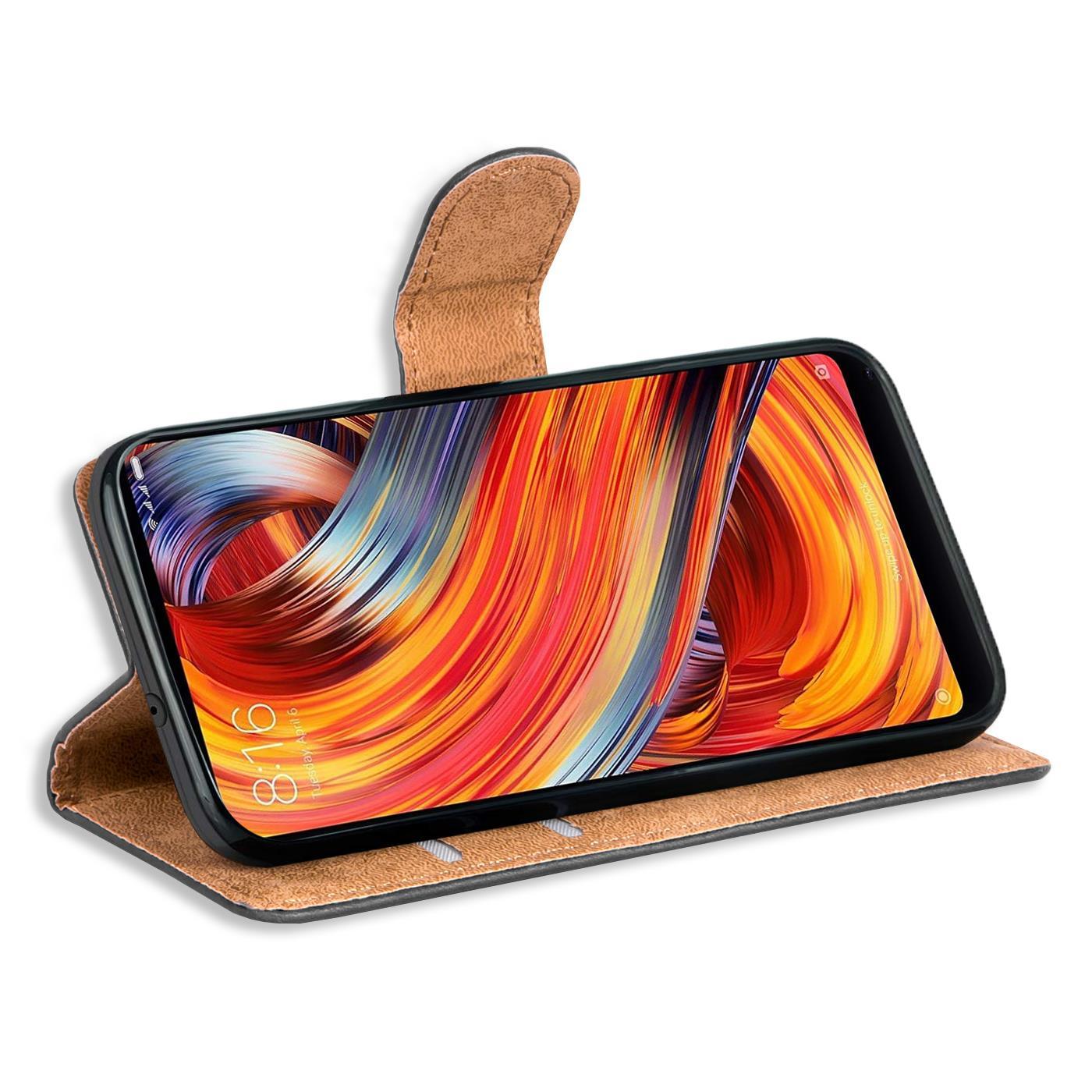 Indexbild 10 - Book-Case-fuer-Xiaomi-Mi-Mix-2-Huelle-Tasche-Flip-Cover-Handy-Schutz-Huelle