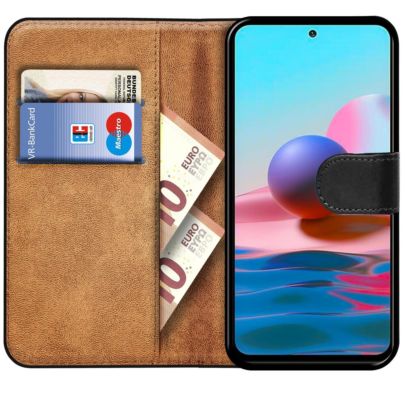 Indexbild 9 - Book Case für Xiaomi Redmi Note 10 / 10S Hülle Flip Cover Handy Schutz Tasche