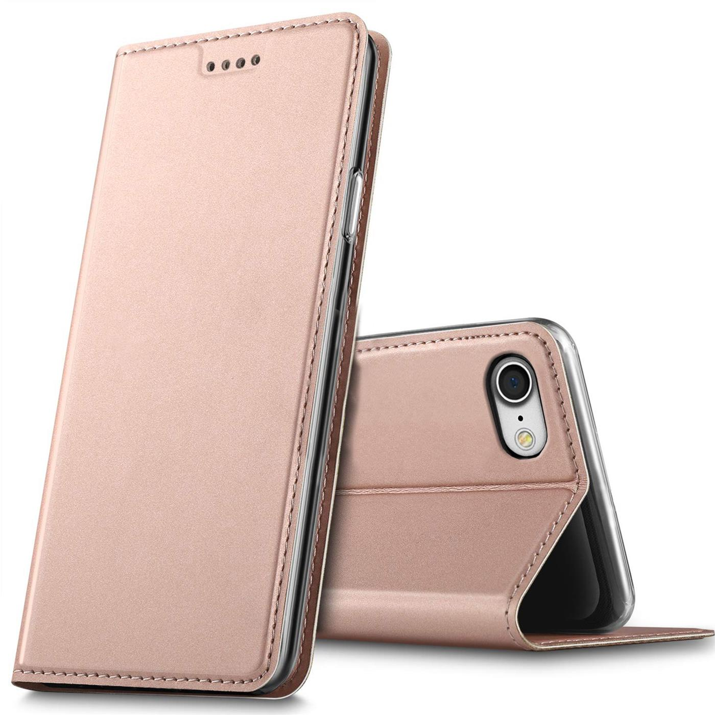 Apple-iPhone-5-5s-SE-Shockproof-Wallet-Slim-Cover-Phone-PU-Leather-Flip-Case thumbnail 14