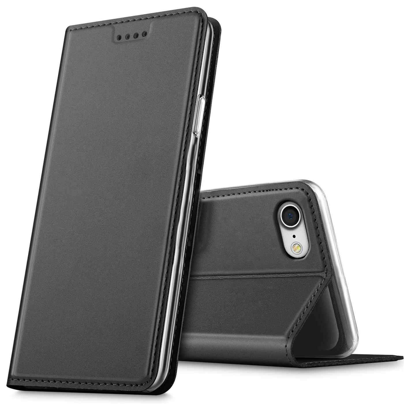 Apple-iPhone-5-5s-SE-Shockproof-Wallet-Slim-Cover-Phone-PU-Leather-Flip-Case thumbnail 6