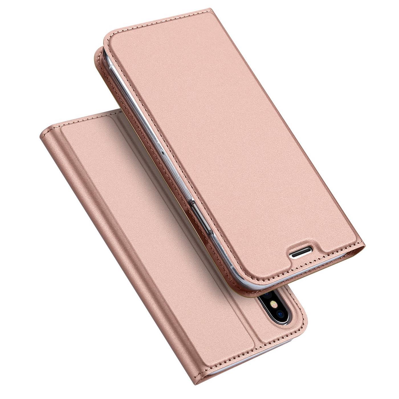 Handyhuelle-Klapp-Tasche-Etui-Schutz-Huelle-Slim-Flip-Cover-Book-Bag-Case-Wallet Indexbild 28