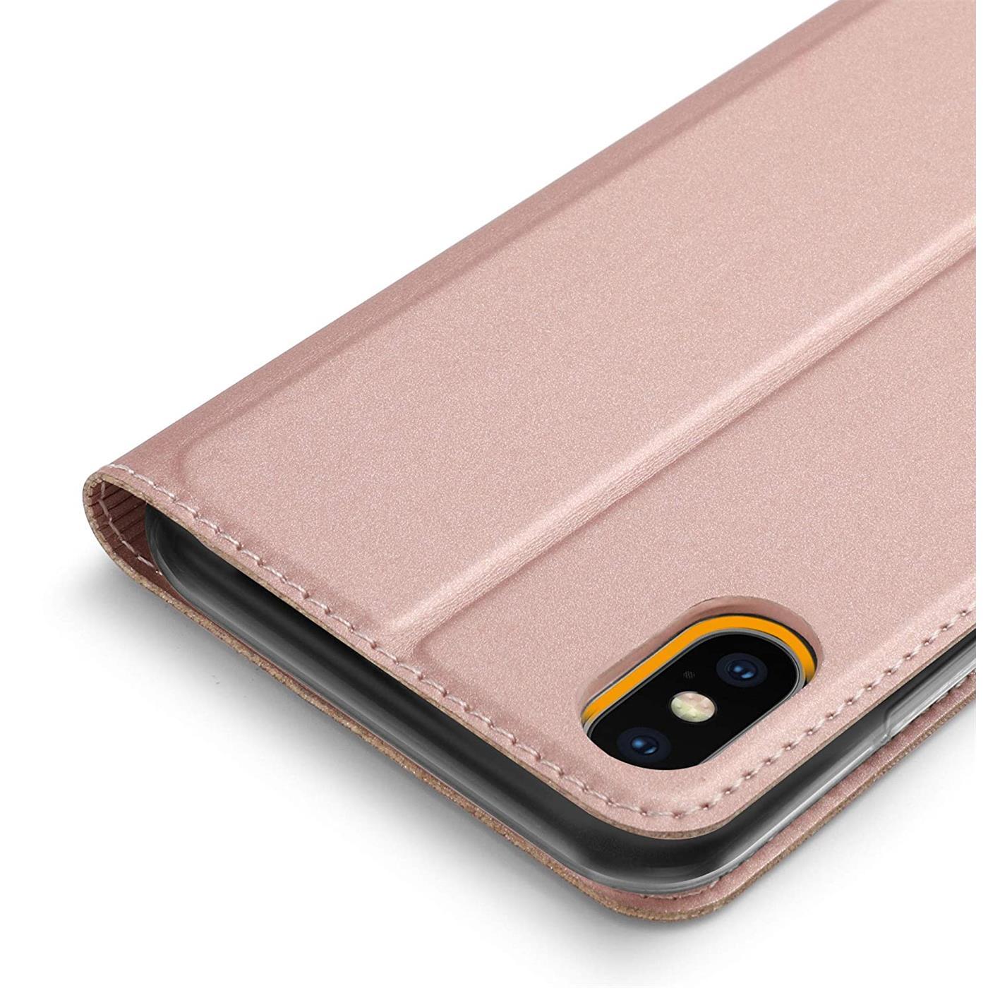 Handyhuelle-Klapp-Tasche-Etui-Schutz-Huelle-Slim-Flip-Cover-Book-Bag-Case-Wallet Indexbild 29