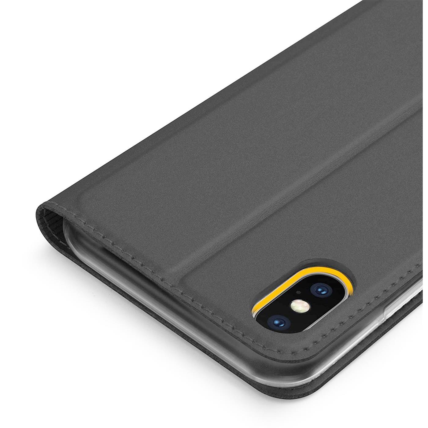 Handyhuelle-Klapp-Tasche-Etui-Schutz-Huelle-Slim-Flip-Cover-Book-Bag-Case-Wallet Indexbild 13