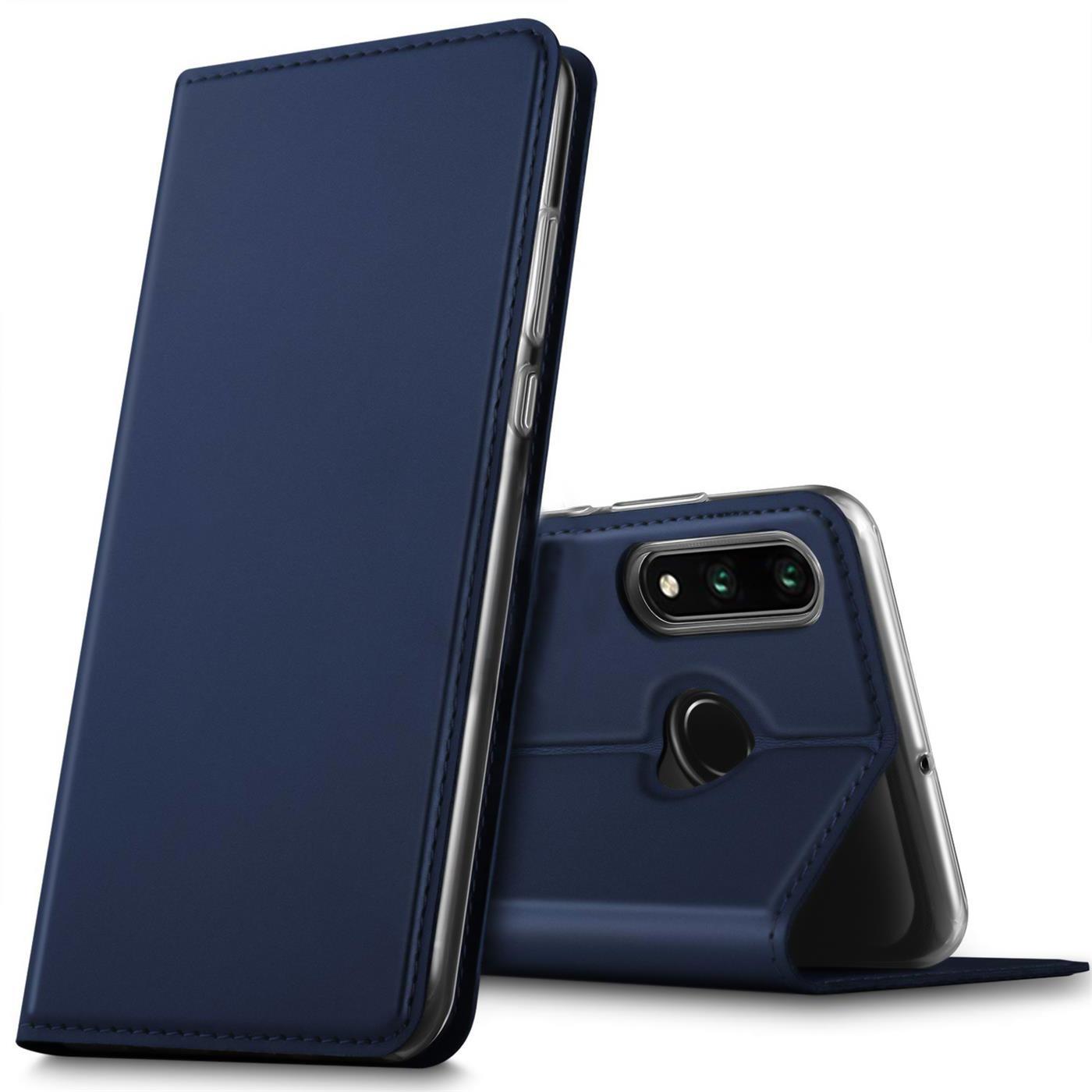 Huawei-P30-Lite-Schutz-Huelle-Handy-Tasche-Flip-Case-Book-Cover-Case-Etui-Bumper Indexbild 12