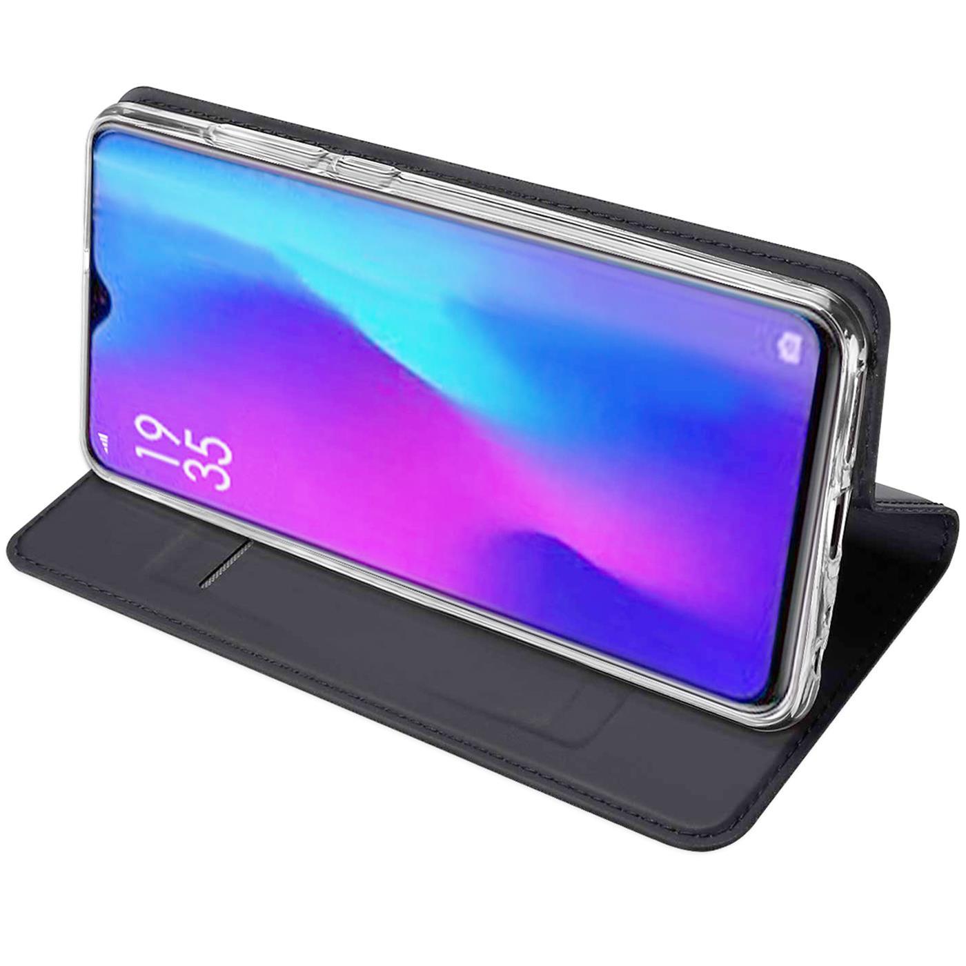 Huawei-P30-Lite-Schutz-Huelle-Handy-Tasche-Flip-Case-Book-Cover-Case-Etui-Bumper Indexbild 14